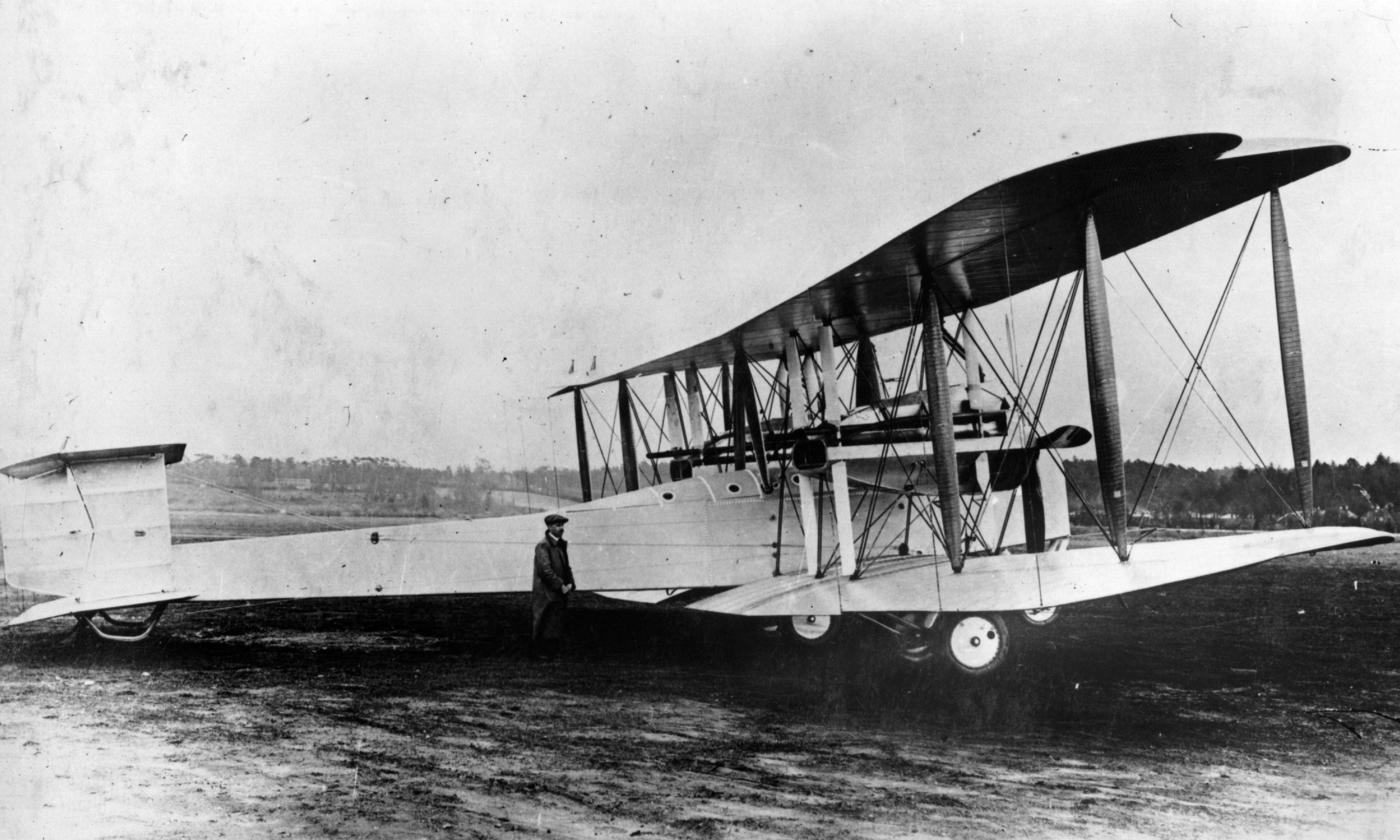 Remember the first transatlantic flight