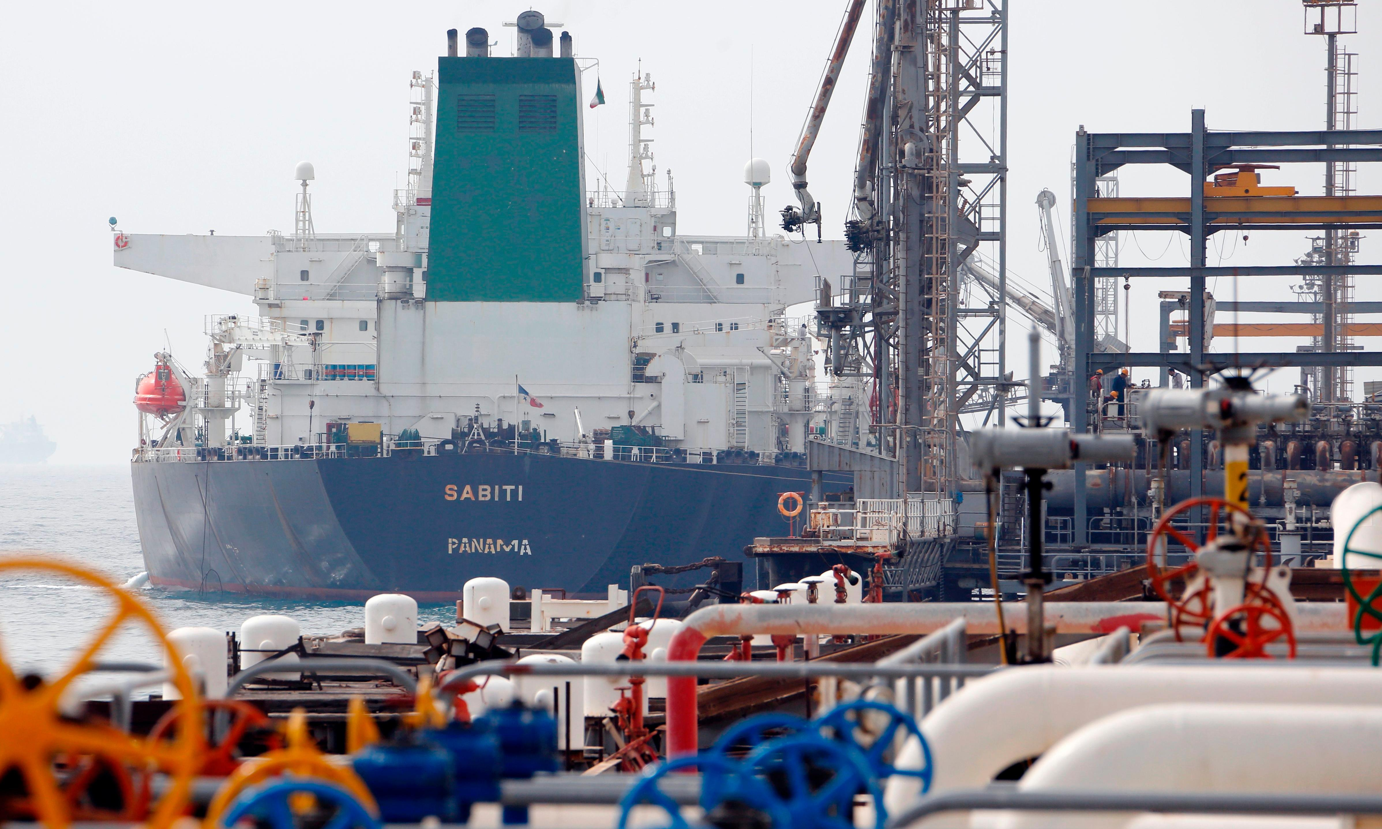 Iranian oil tanker damaged by explosions near Saudi port city