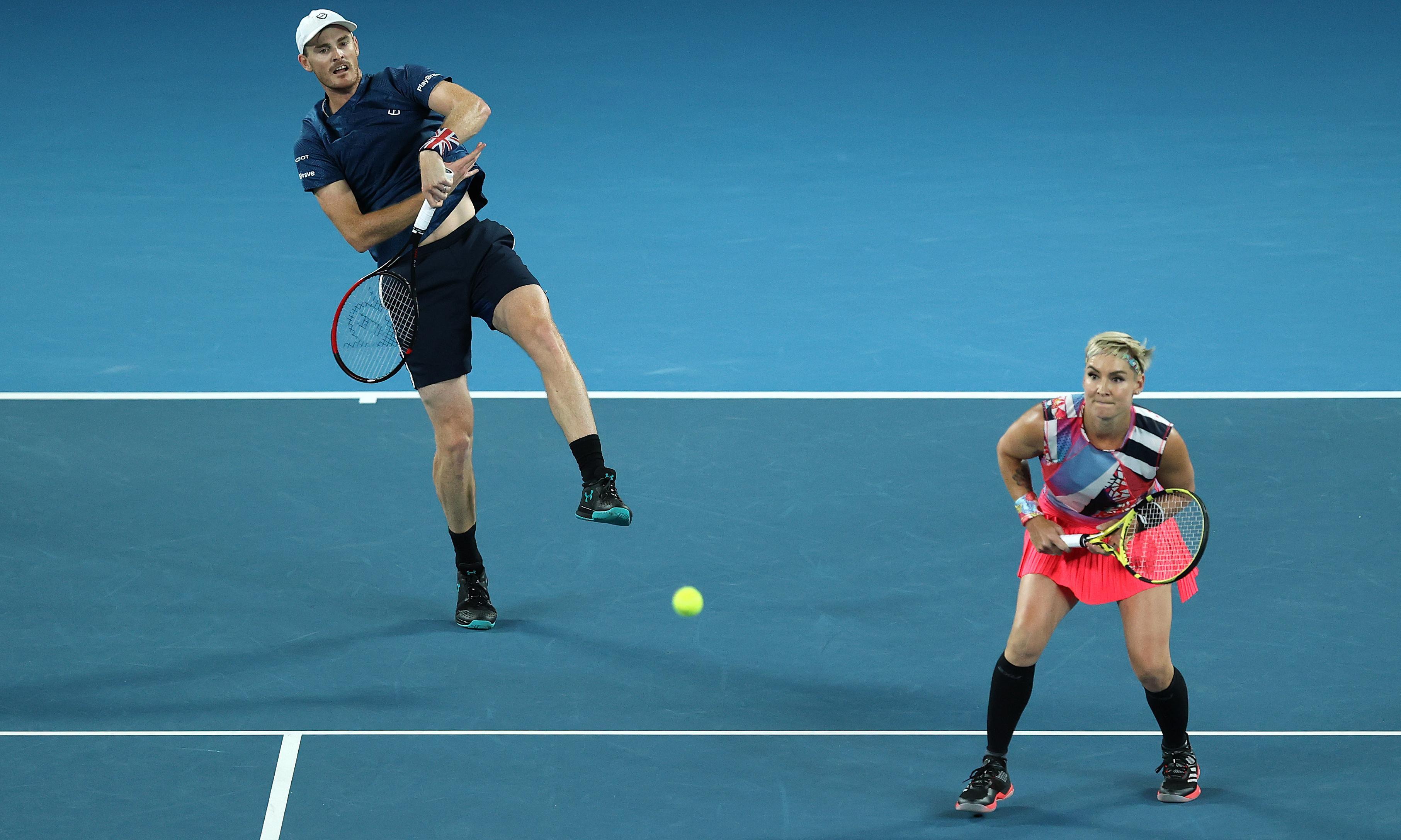 Jamie Murray one win away from breaking British Open era slam record