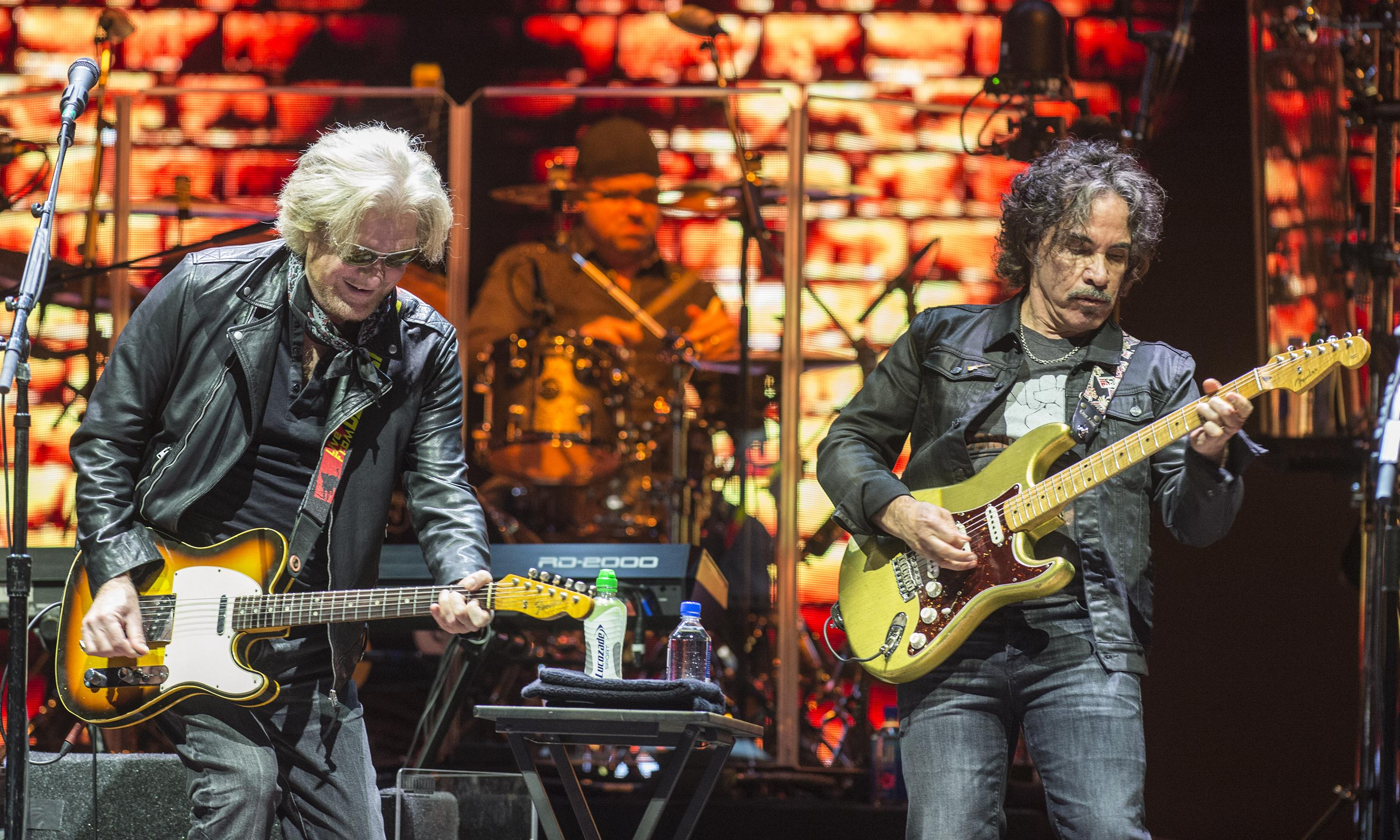 Daryl Hall and John Oates review – elegantly crumpled soft-rock statesmen