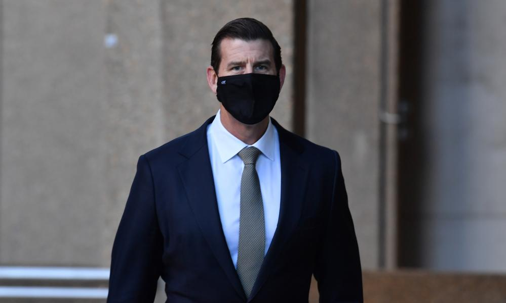 Ben Roberts-Smith at the federal court in Sydney in July