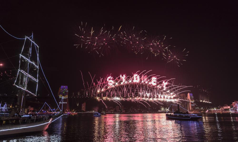 City Of Sydney Celebrates New Year's Eve 2016SYDNEY, NEW SOUTH WALES - JANUARY 01: The fireworks on New Year's Eve at Sydney Harbour on January 1, 2017 in Sydney, Australia. (Photo by Brook MitchellCity of Sydney/Getty Images)