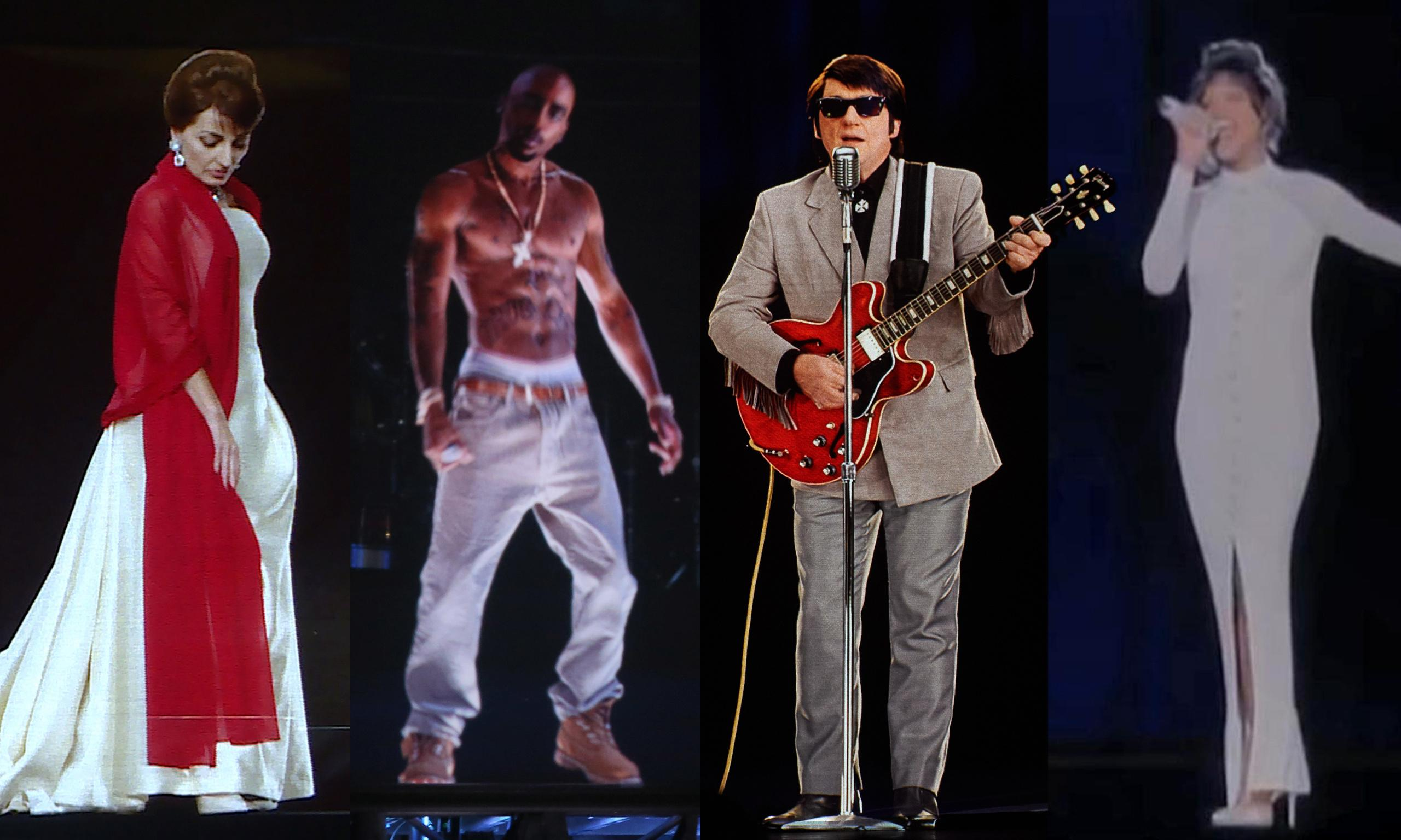 Back to life, back to virtual reality as music stars return to stage as holograms
