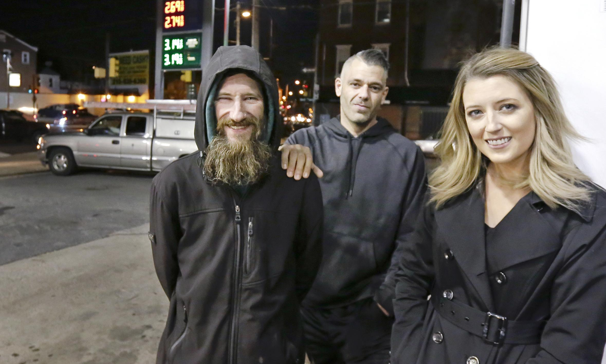 Homeless man and couple 'completely made up' viral story that raised $400,000