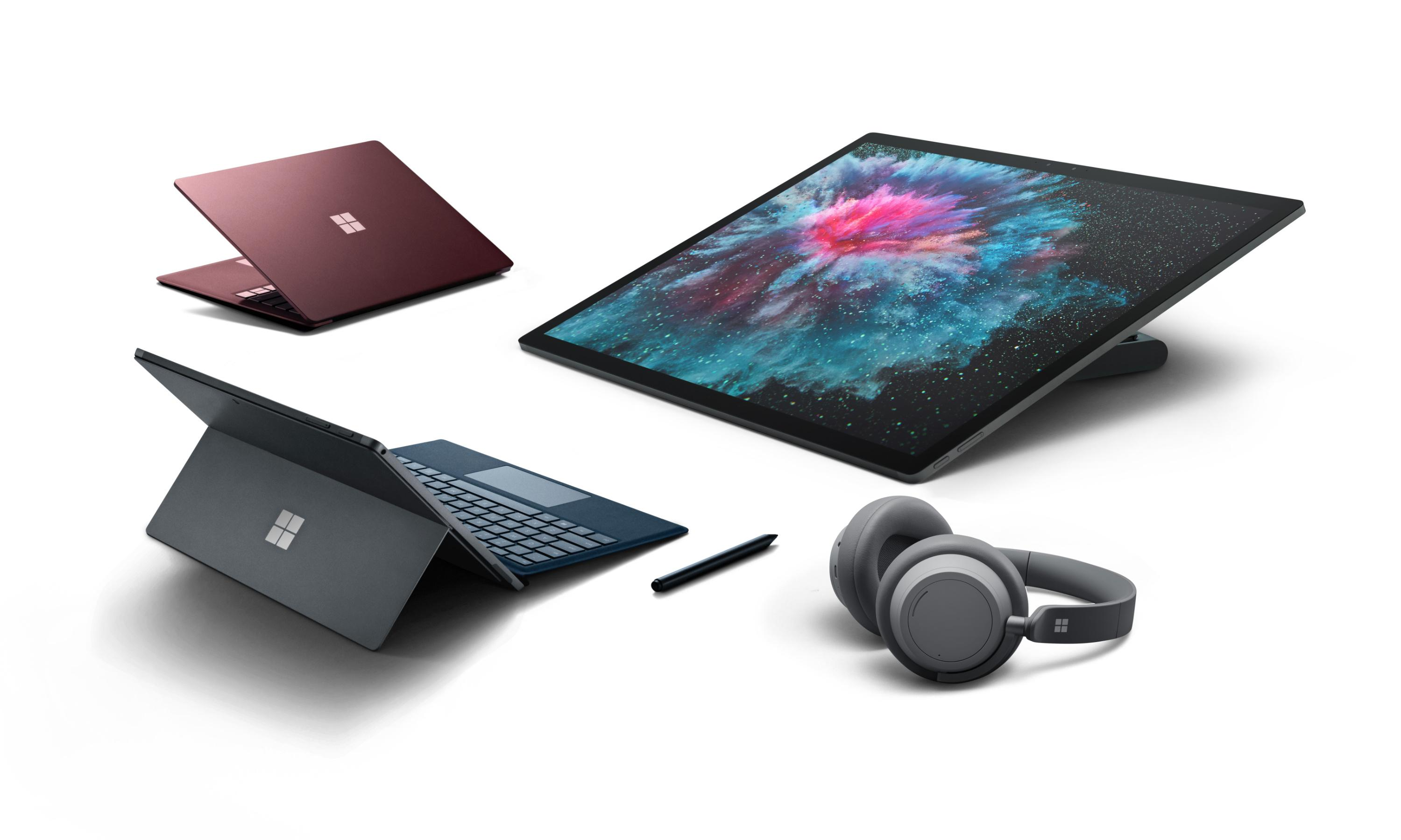 Microsoft launches faster Surface Pro 6 and Surface Laptop 2 machines