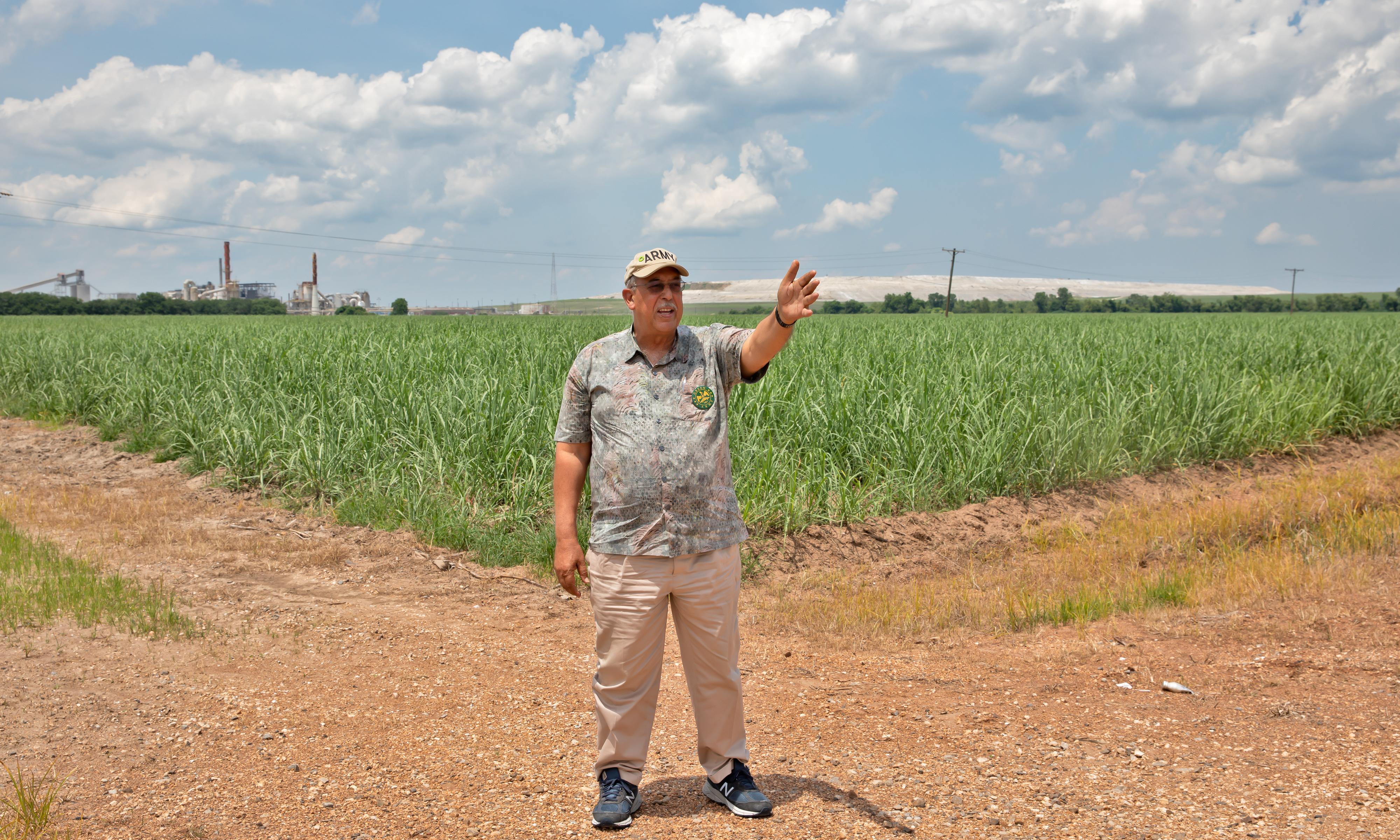 He's a Gulf War vet who stepped up during Katrina. Now he's an environmental crusader