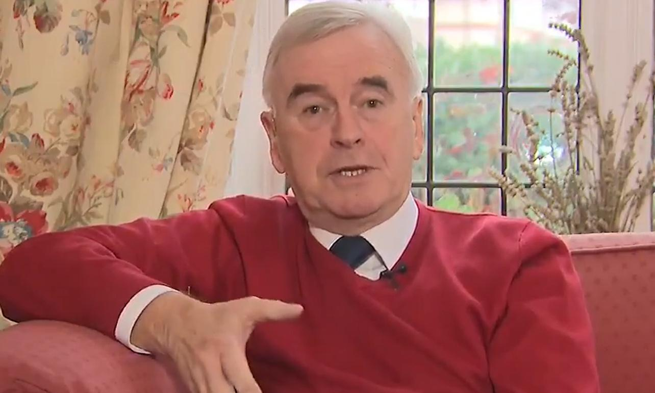 Labour will get 'a good kicking' in European elections, McDonnell says