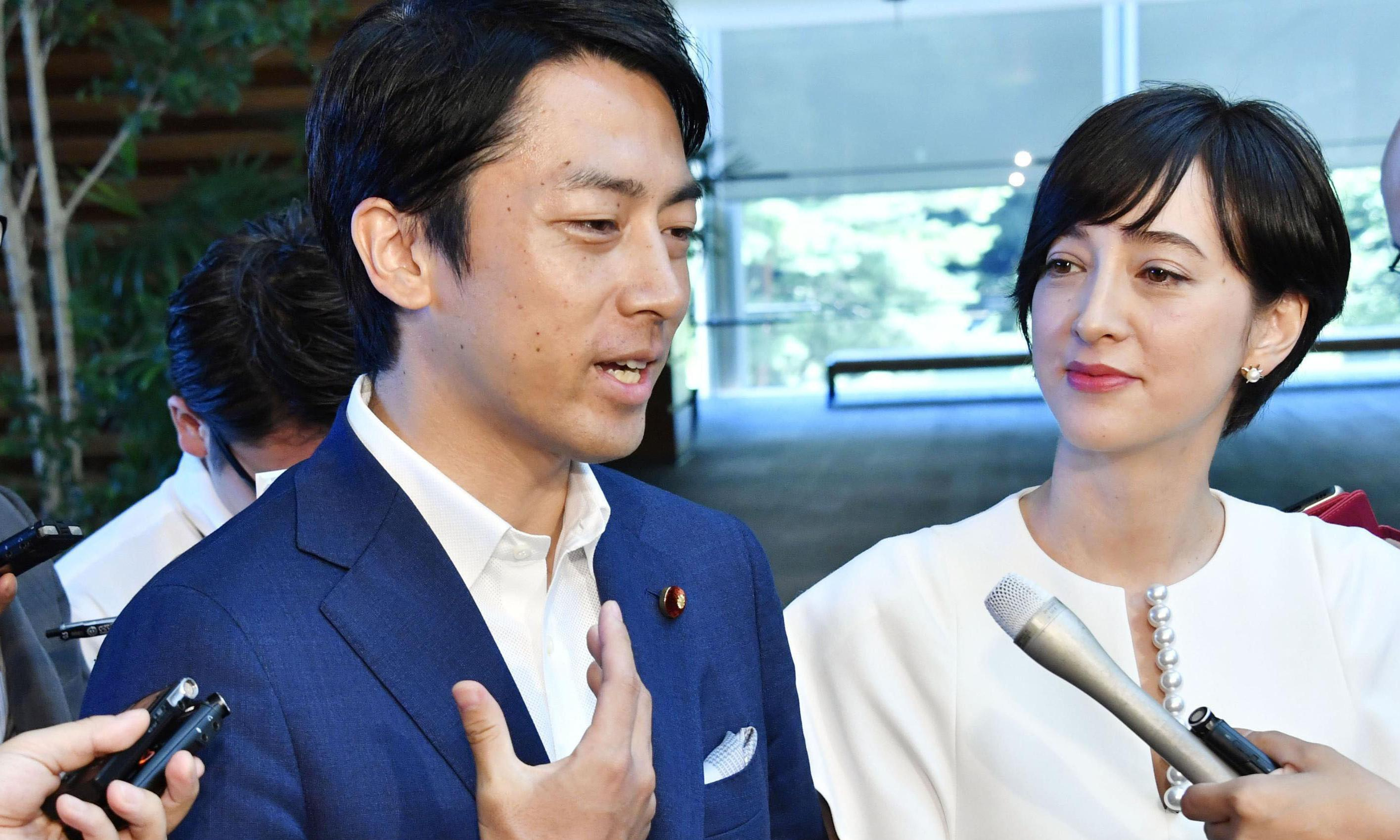 Culture shock: can trailblazing Japanese minister change minds on paternity leave?