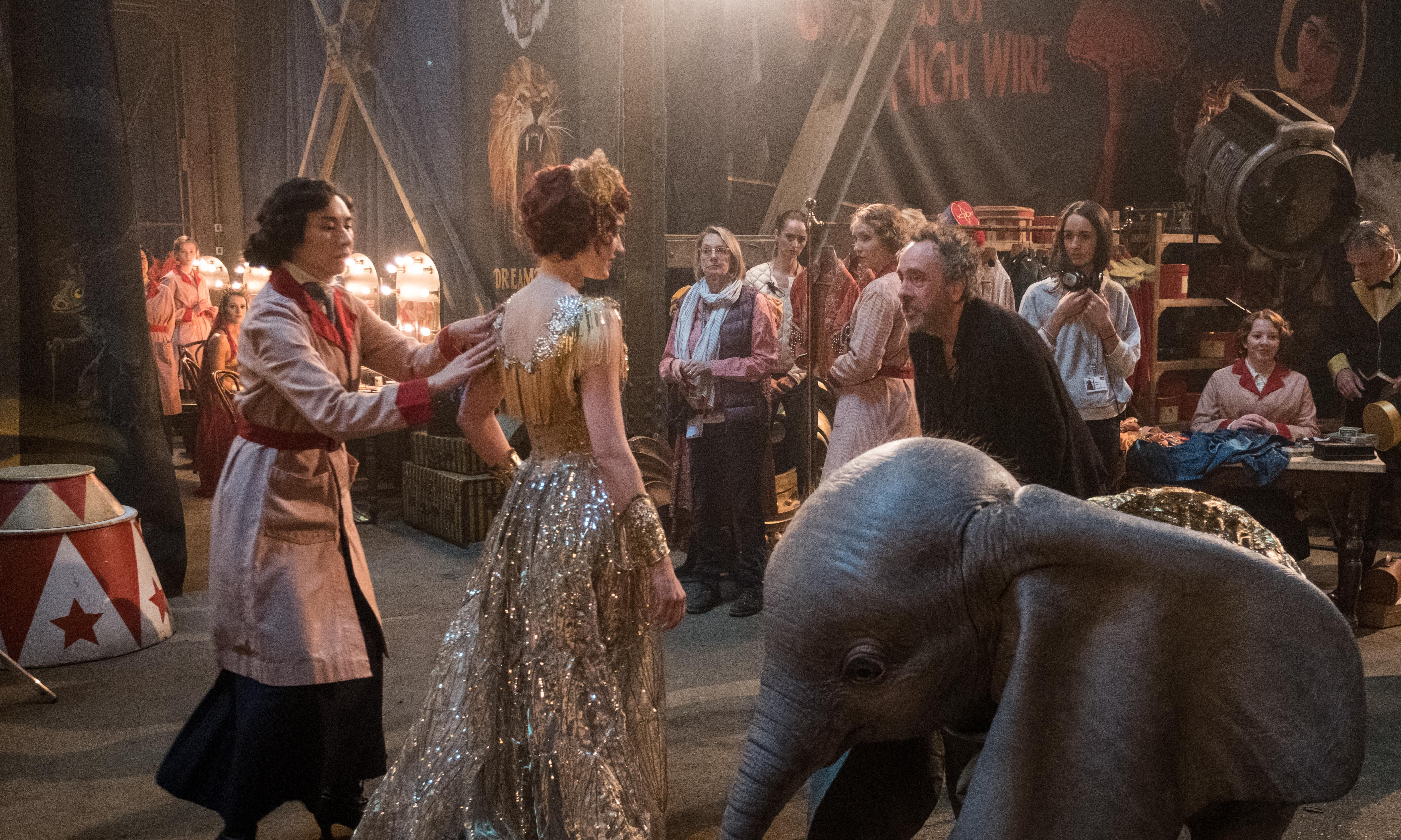 On the set of Dumbo with Tim Burton: 'Like meeting up with your teenage boyfriend'