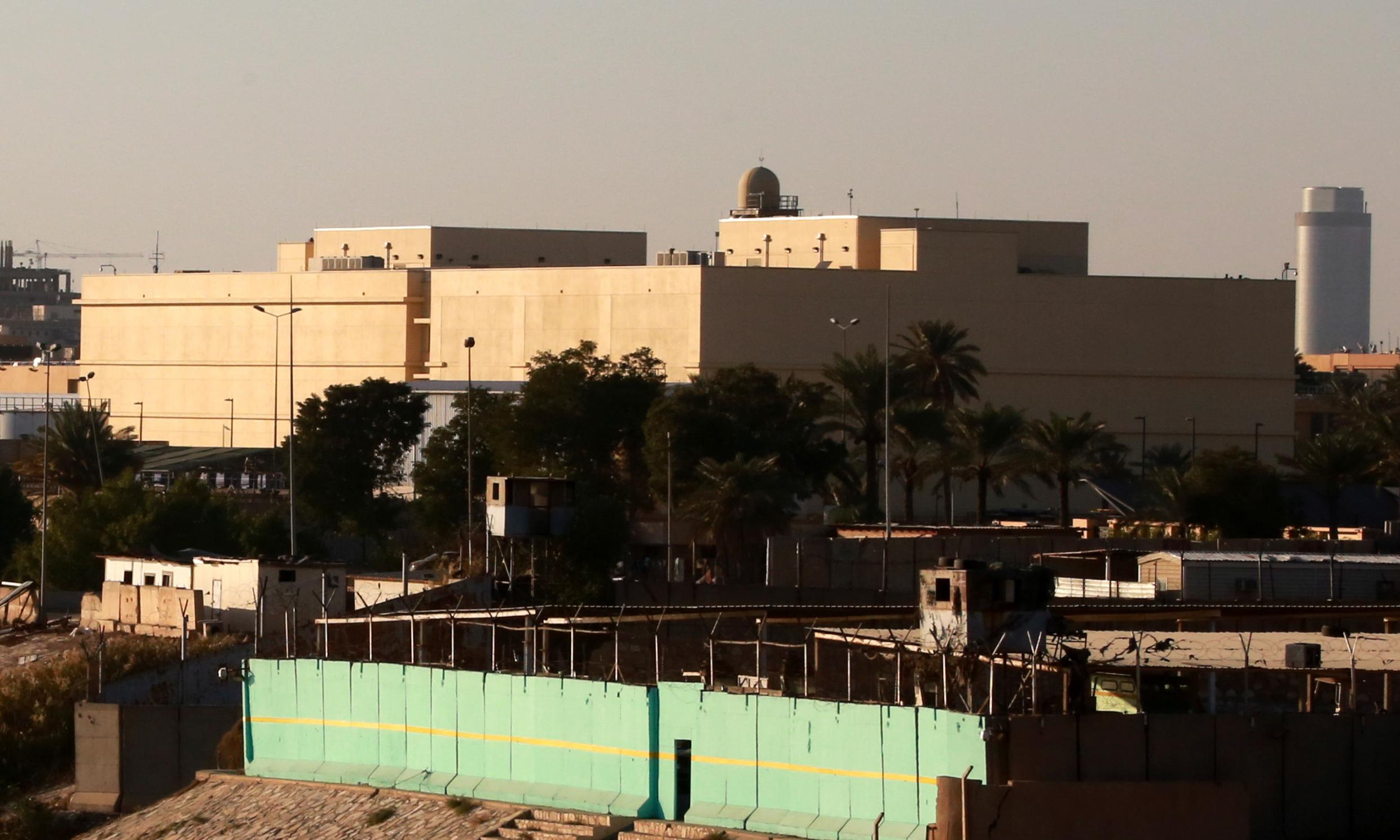 US embassy in Iraq hit by rocket attack, wounding at least one