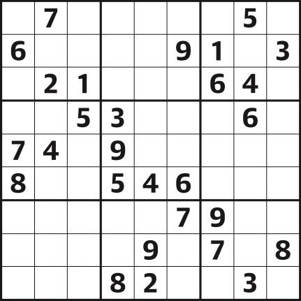 Sudoku 4441 medium