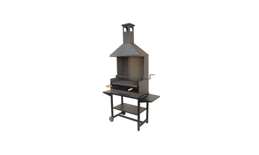 Imex El Zorro 71450 barbecue with wheels and stainless steel grill