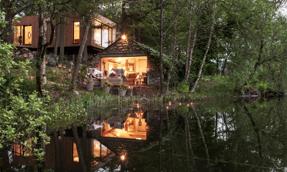 Tree house: reflections of the Gilpin Lake House Spa