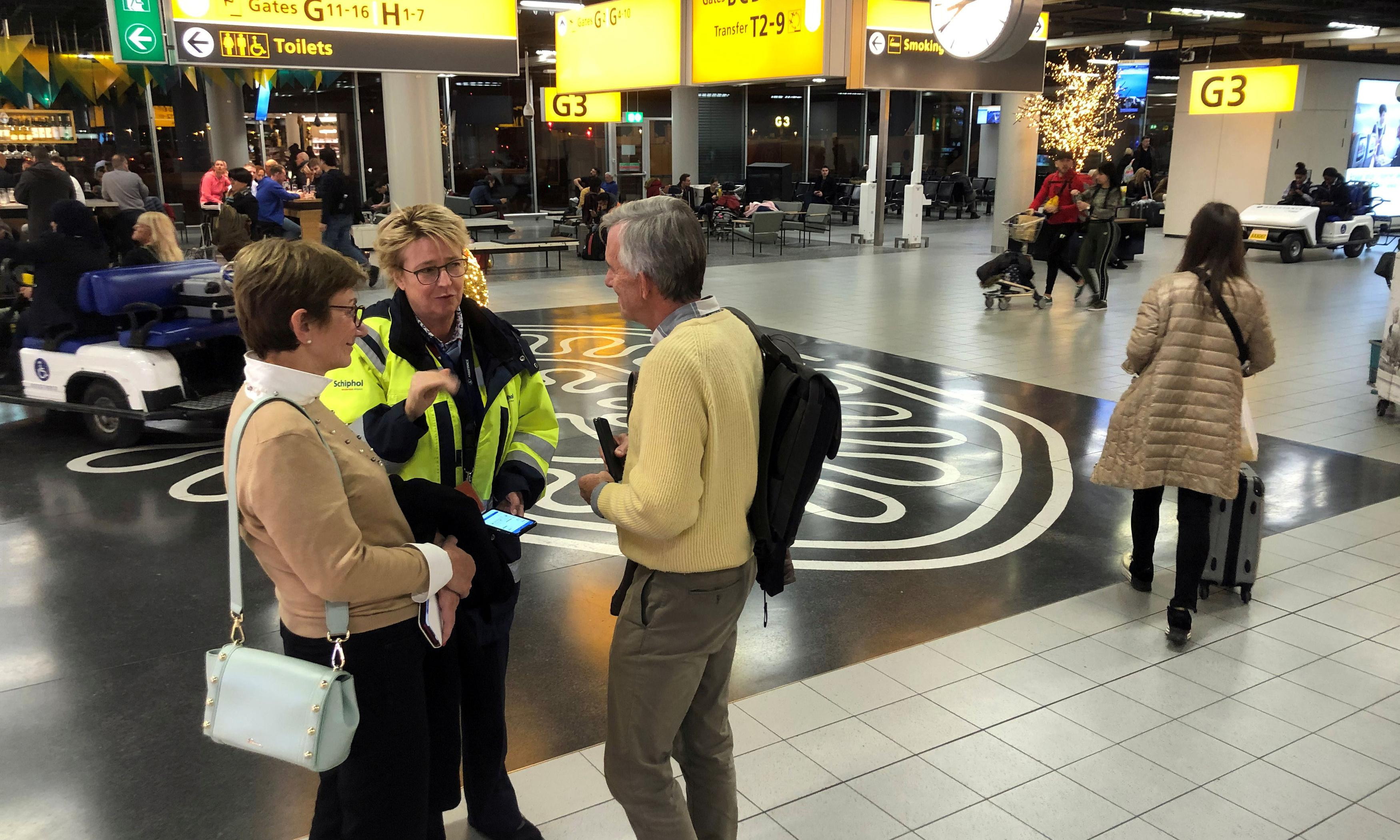 Schiphol security alert a false alarm caused by hijack warning sent in error