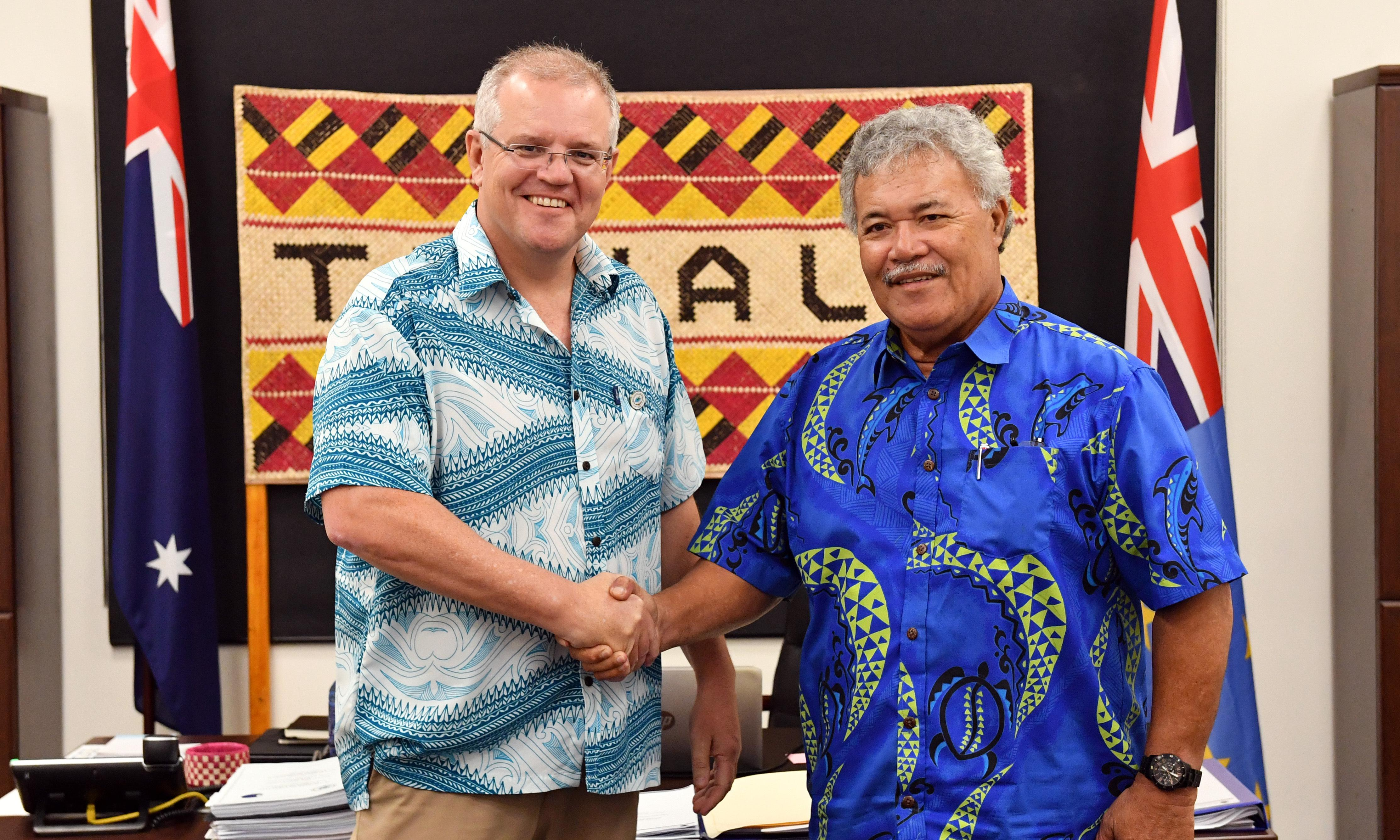 Tuvalu threatens to exit Australia's seasonal worker program after deputy PM's comments