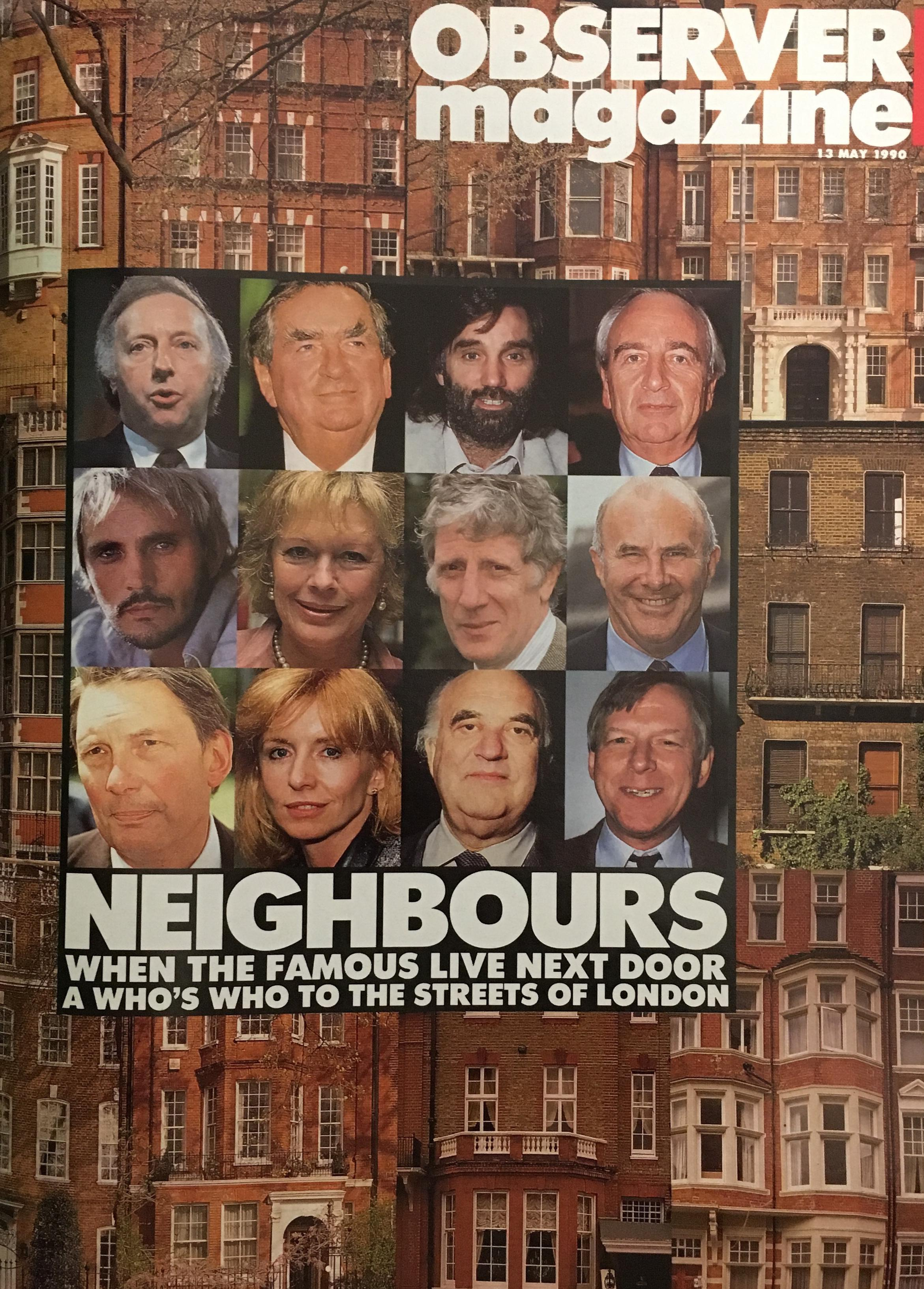 From the archive: is your neighbour famous?