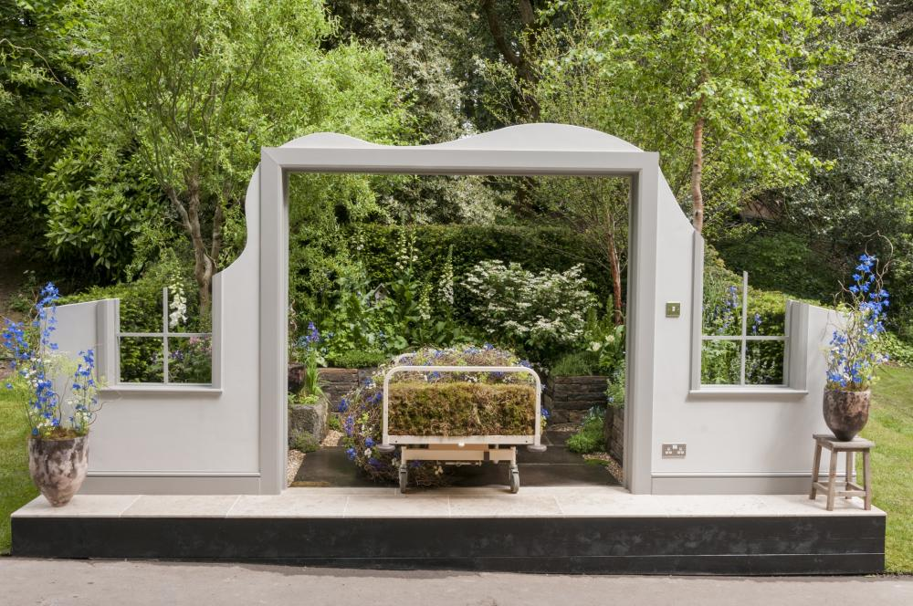 The Garden Bed, designed by Stephen Welch and Alison Doxey in partnership with Asda