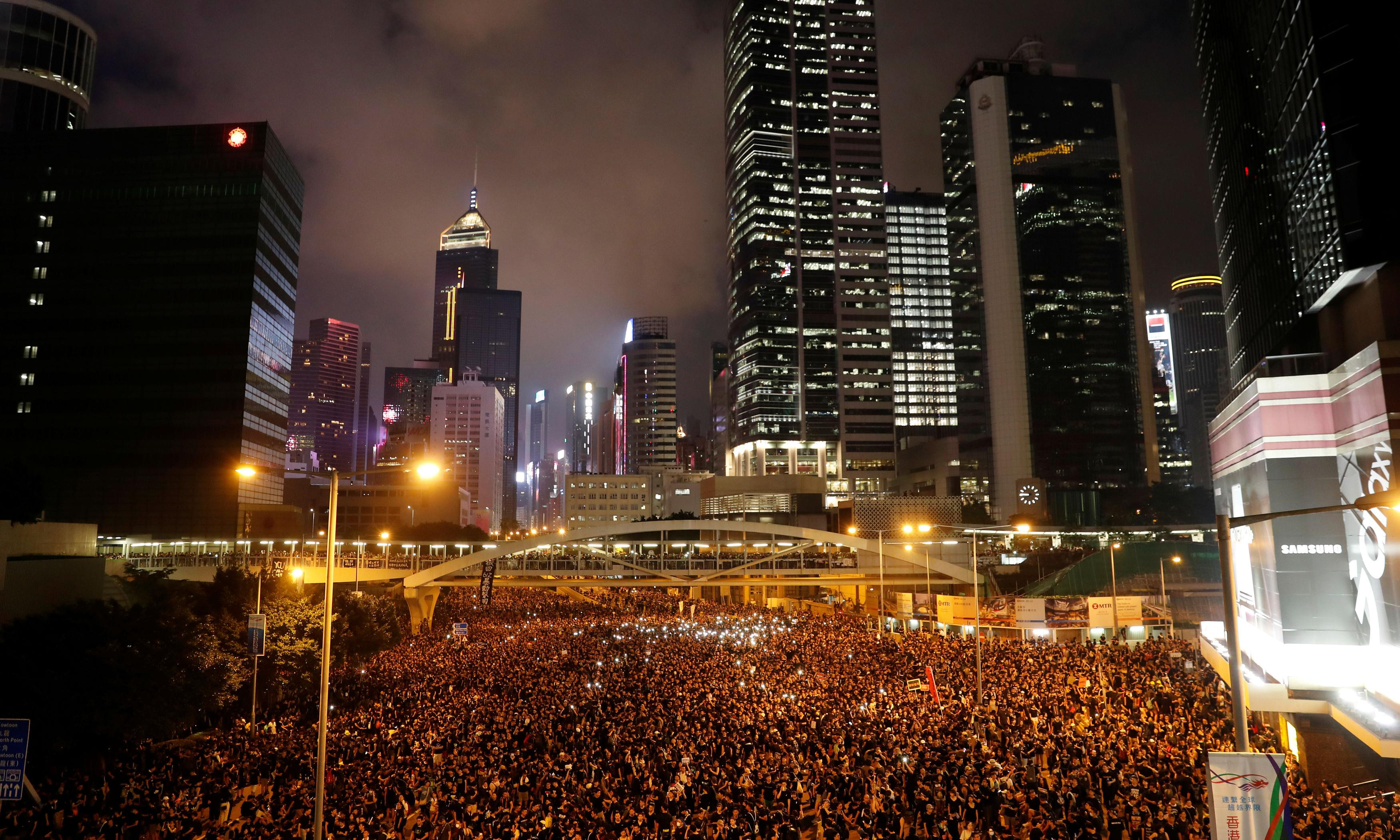 'They're kids, not rioters': new generation of protesters bring Hong Kong to standstill