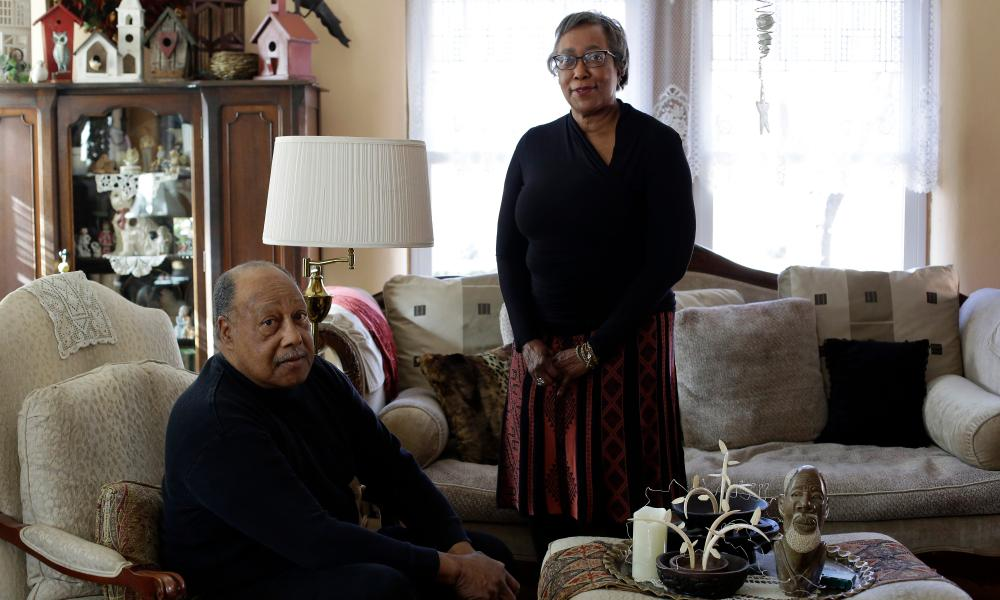 Irv Logan and Elizabeth Logan Calvin, grandchildren of Alberta Ellis, who owned many black-friendly establishments in Springfield, Missouri