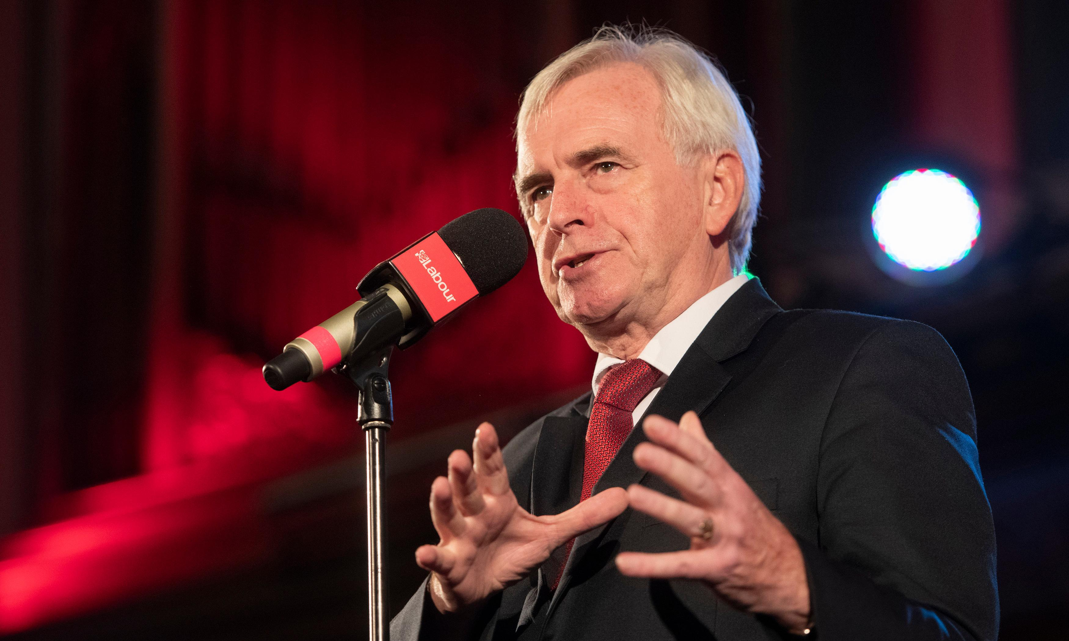 McDonnell to address People's Vote rally as Heseltine urges Tories to reject Brexit deal