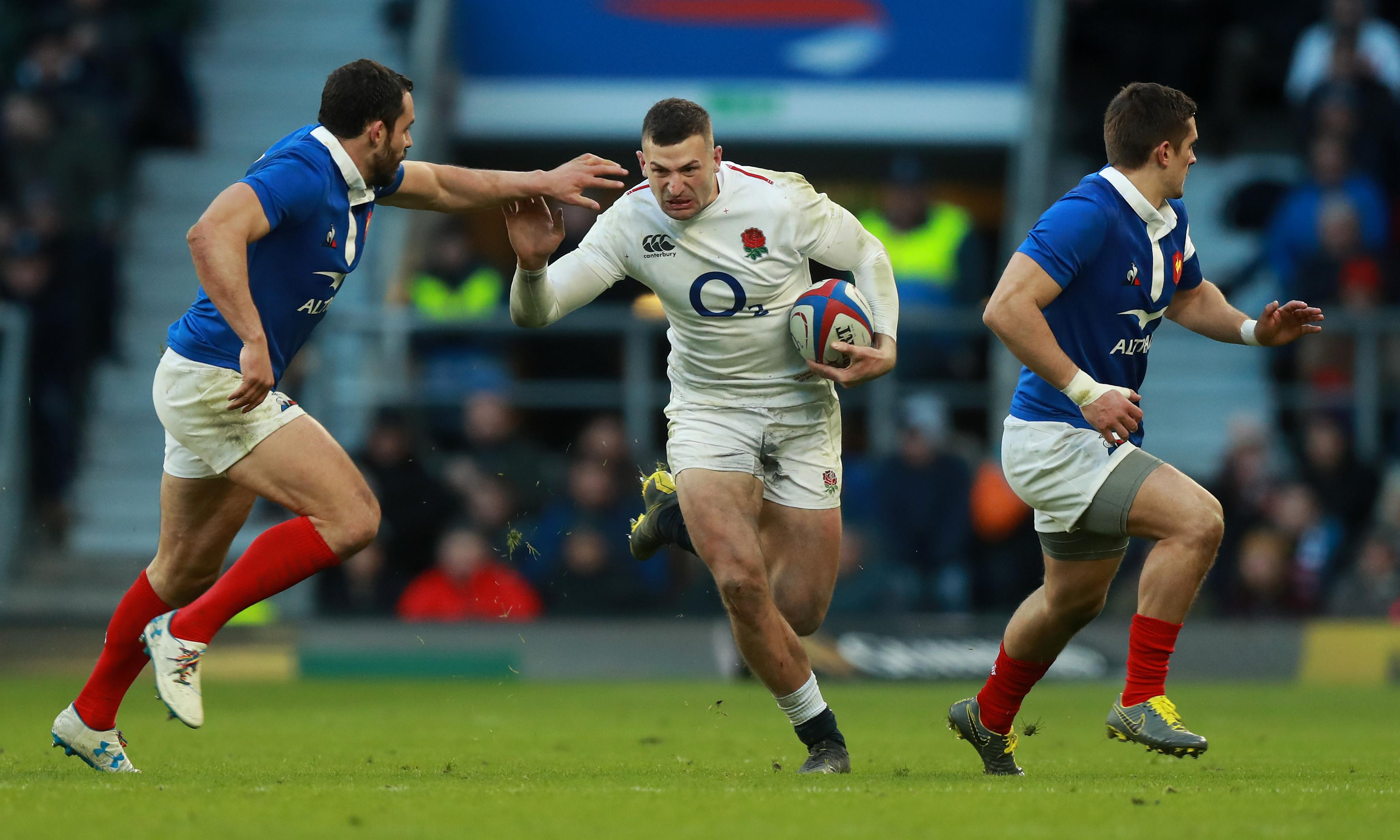 My form is having a mental effect on England's opponents, says Jonny May