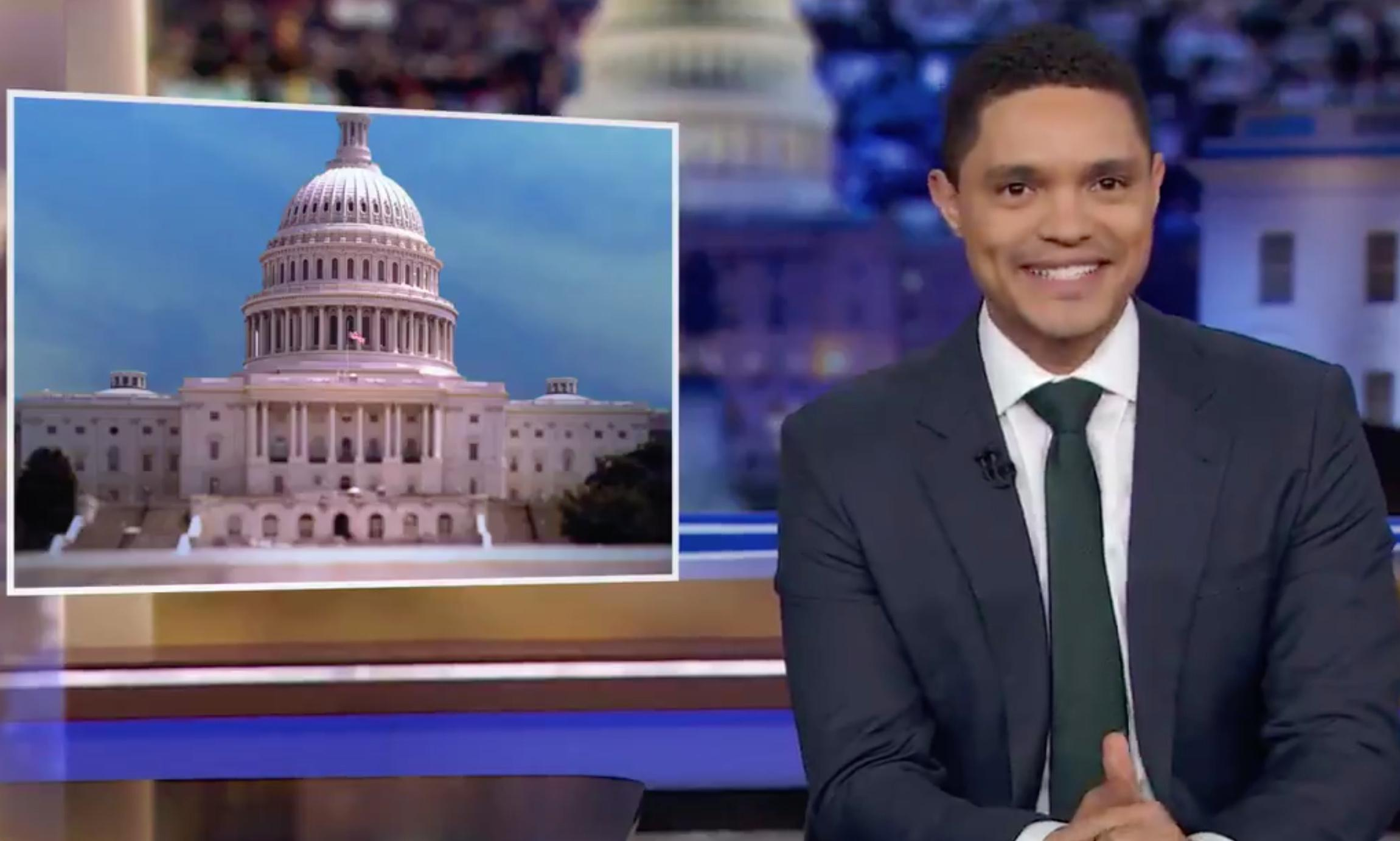Trevor Noah on impeachment: 'Maybe we should call it a presidential boo-boo'