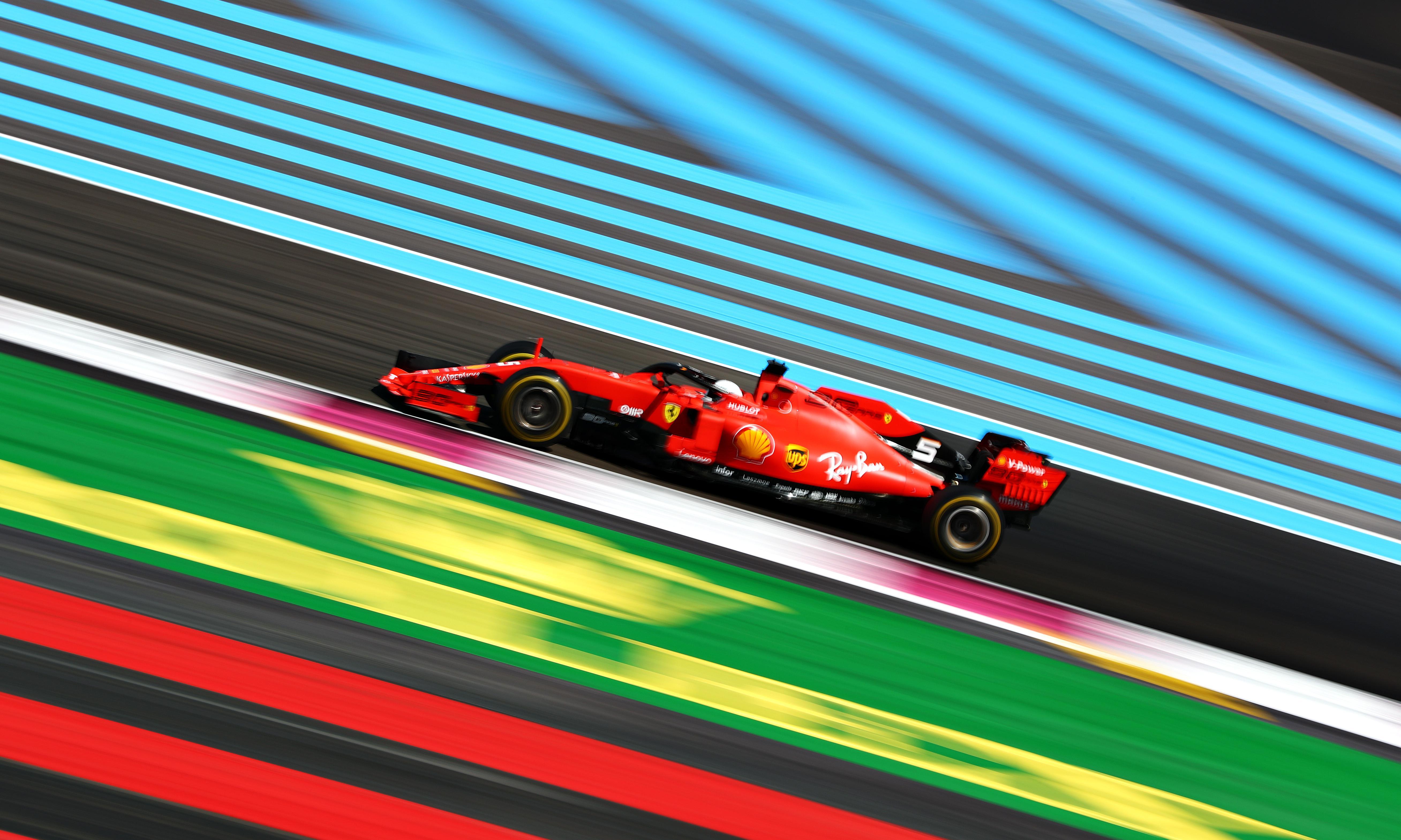 Dominant Lewis Hamilton wins the French Grand Prix as Vettel slips back