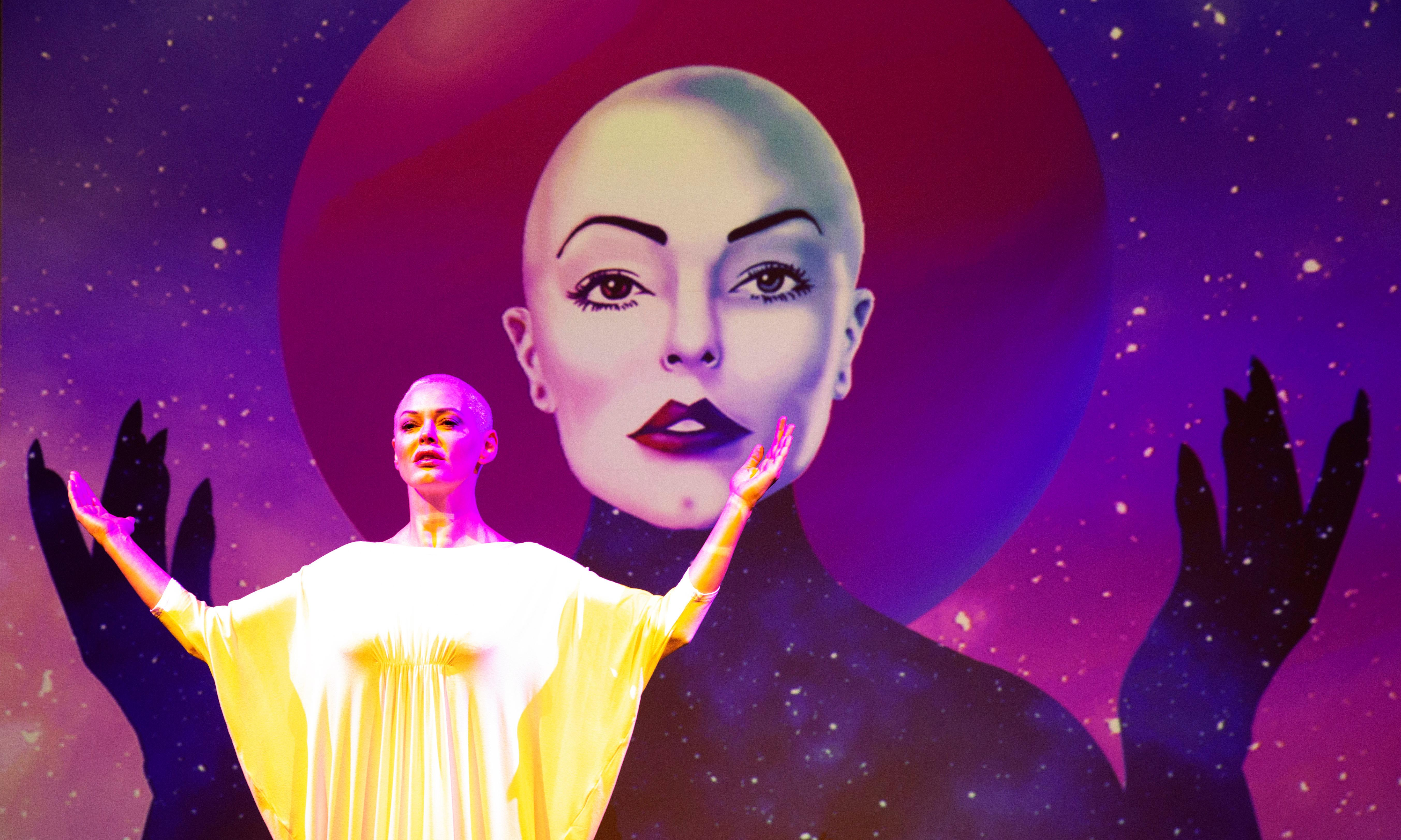 Rose McGowan: Planet 9 review: 'She can hold a note – but not always the right one'