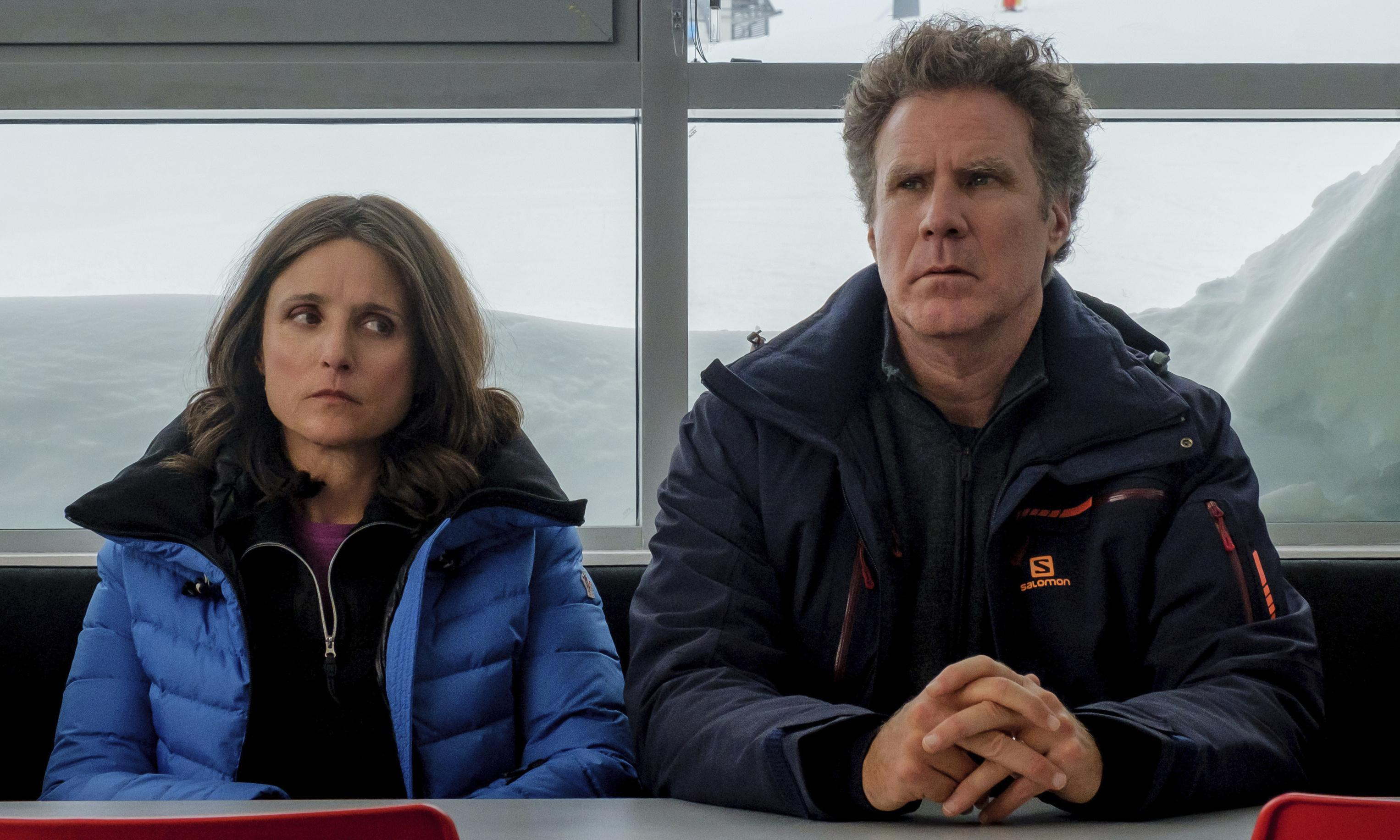 Downhill review – Ferrell and Louis-Dreyfus crash with redundant remake
