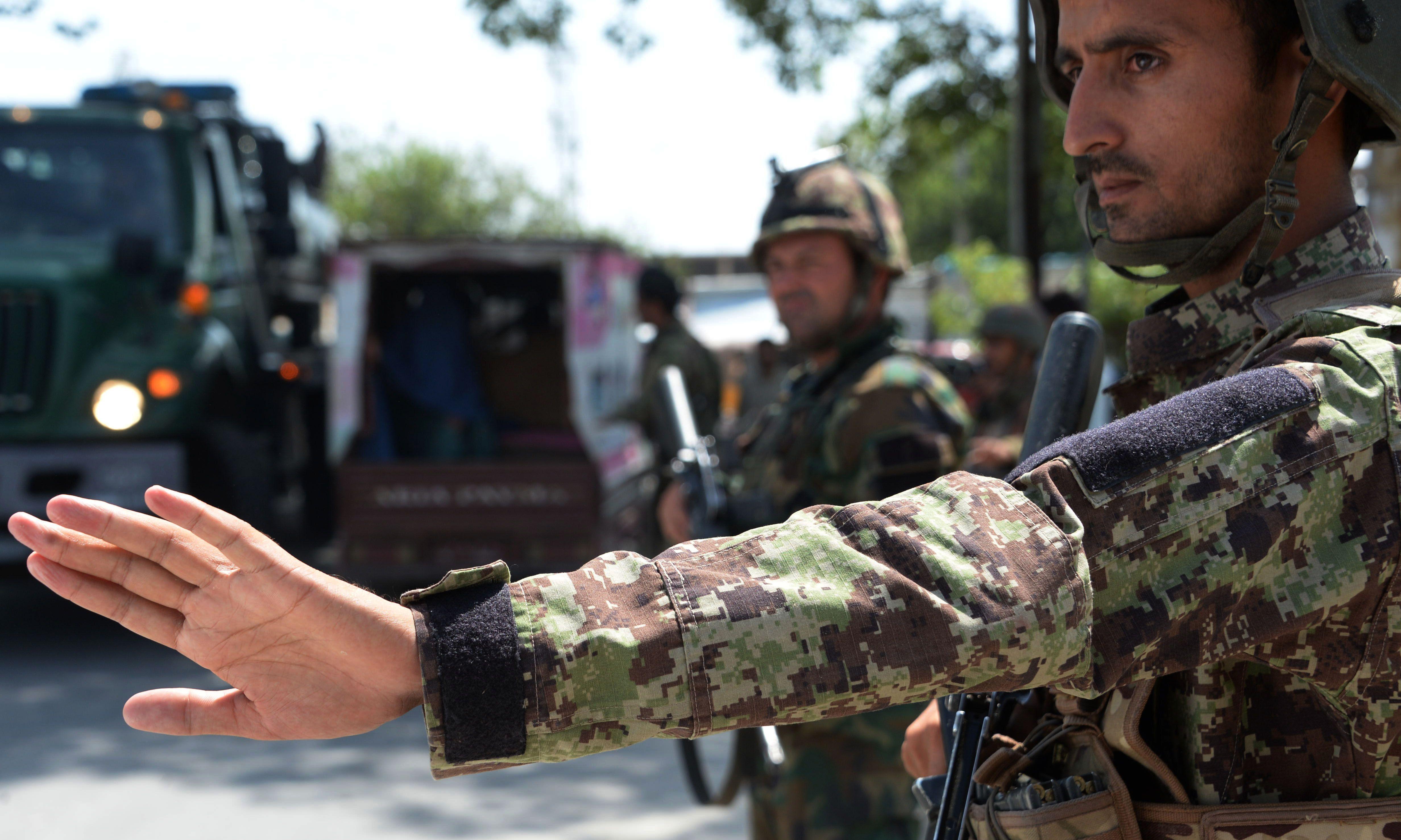 Afghan security forces kill six civilians during insurgent raid