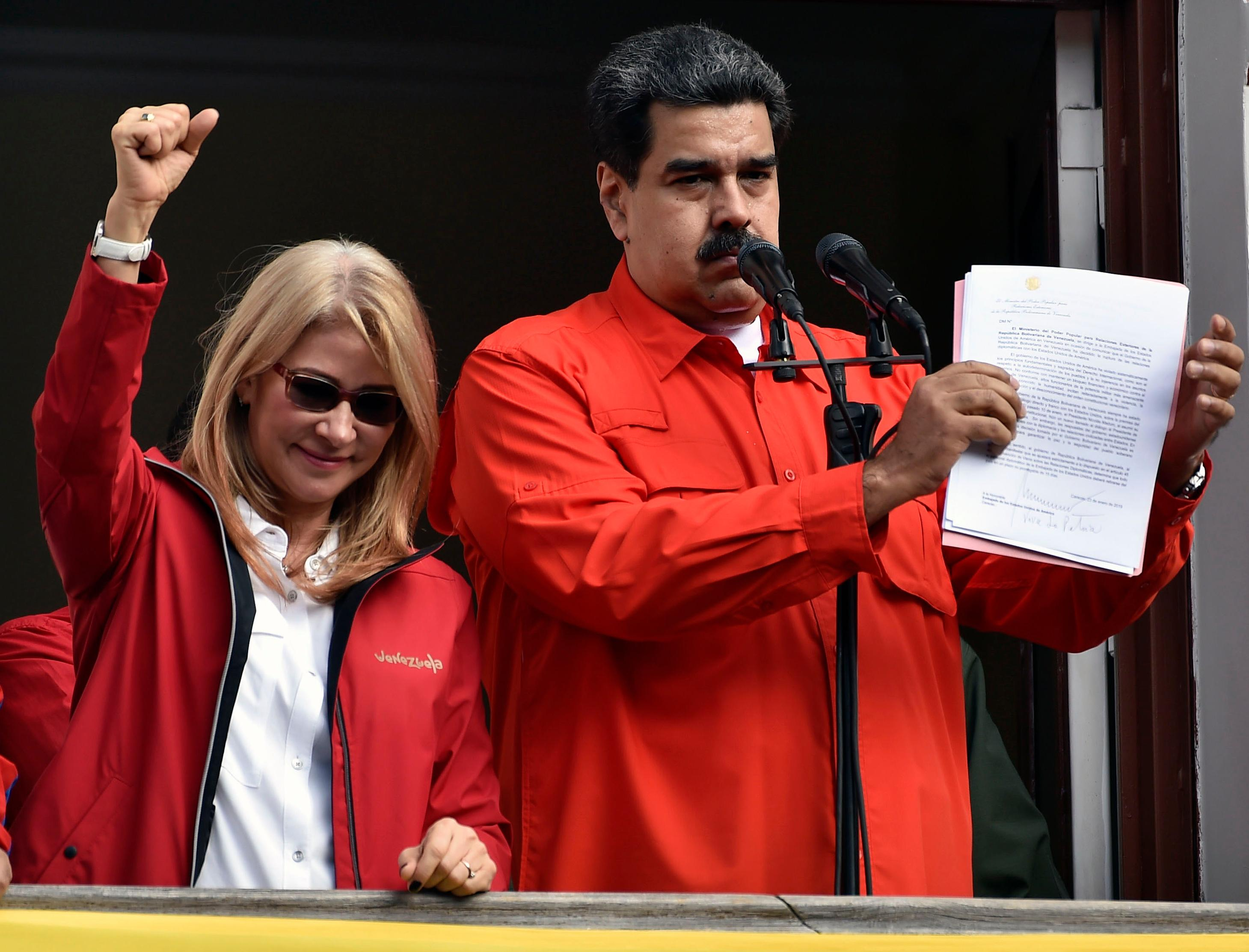 Trump says 'All options on table' as Venezuela crisis deepens