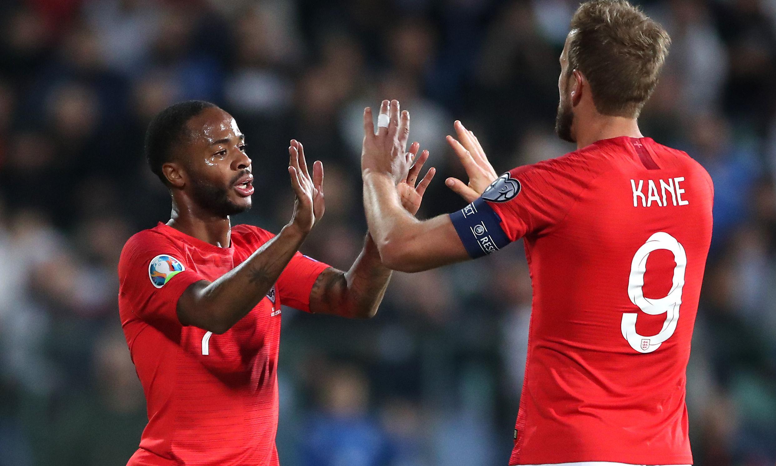 England trounce Bulgaria 6-0 but forced into stoppages by racist chanting