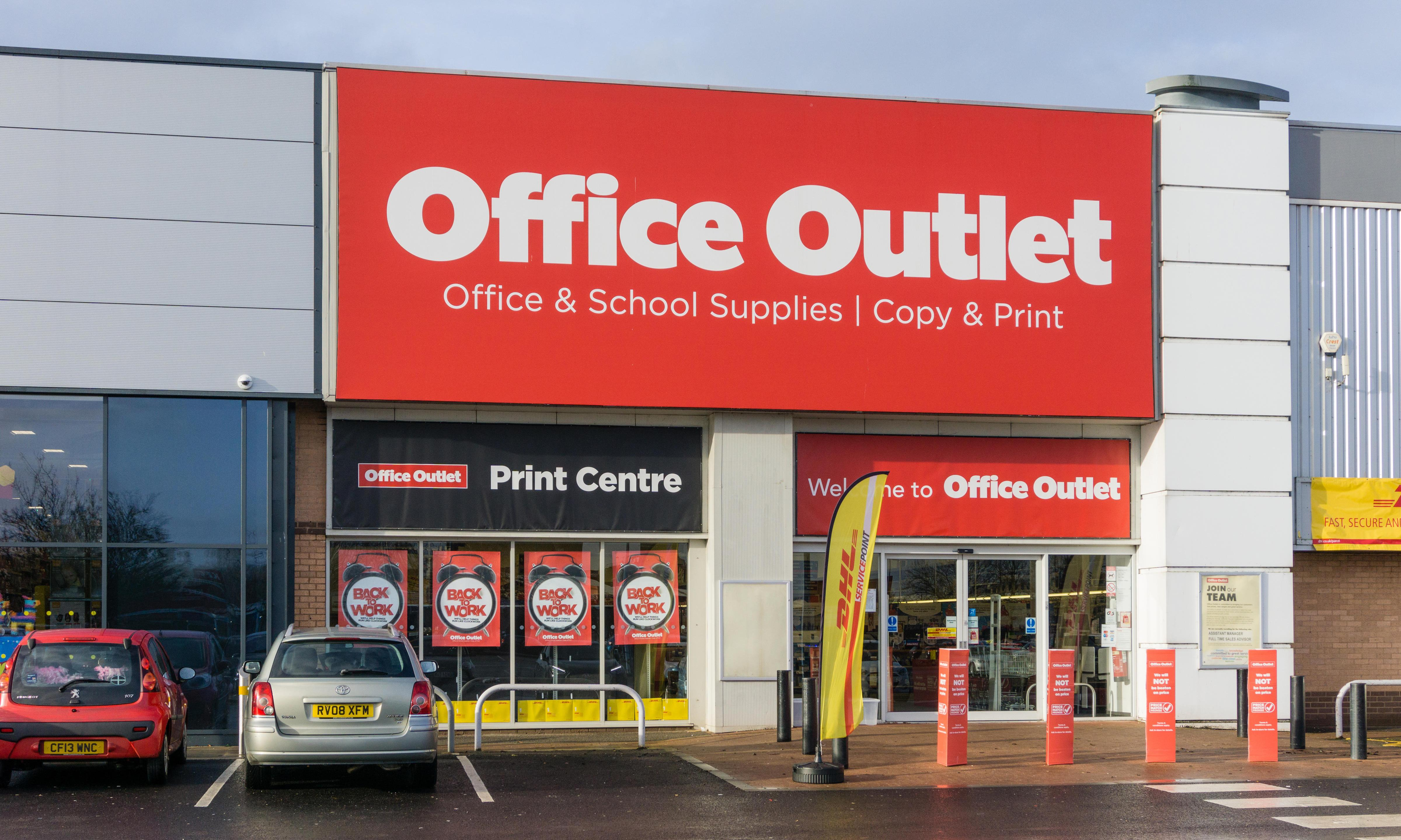 Office Outlet is latest retailer to go into administration