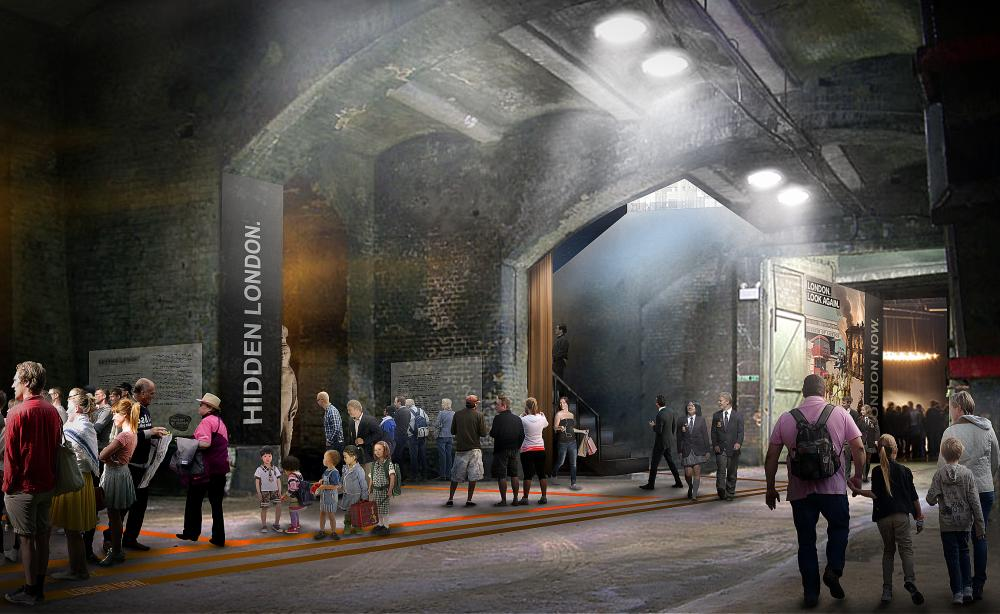 Museum of London design by Lacaton & Vassal Architectes and Pernilla Ohrstedt Studio 2.