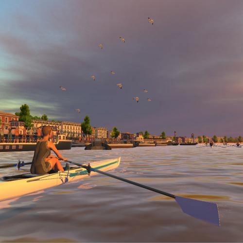 Holodia creates VR technology that can be used with rowing machines.