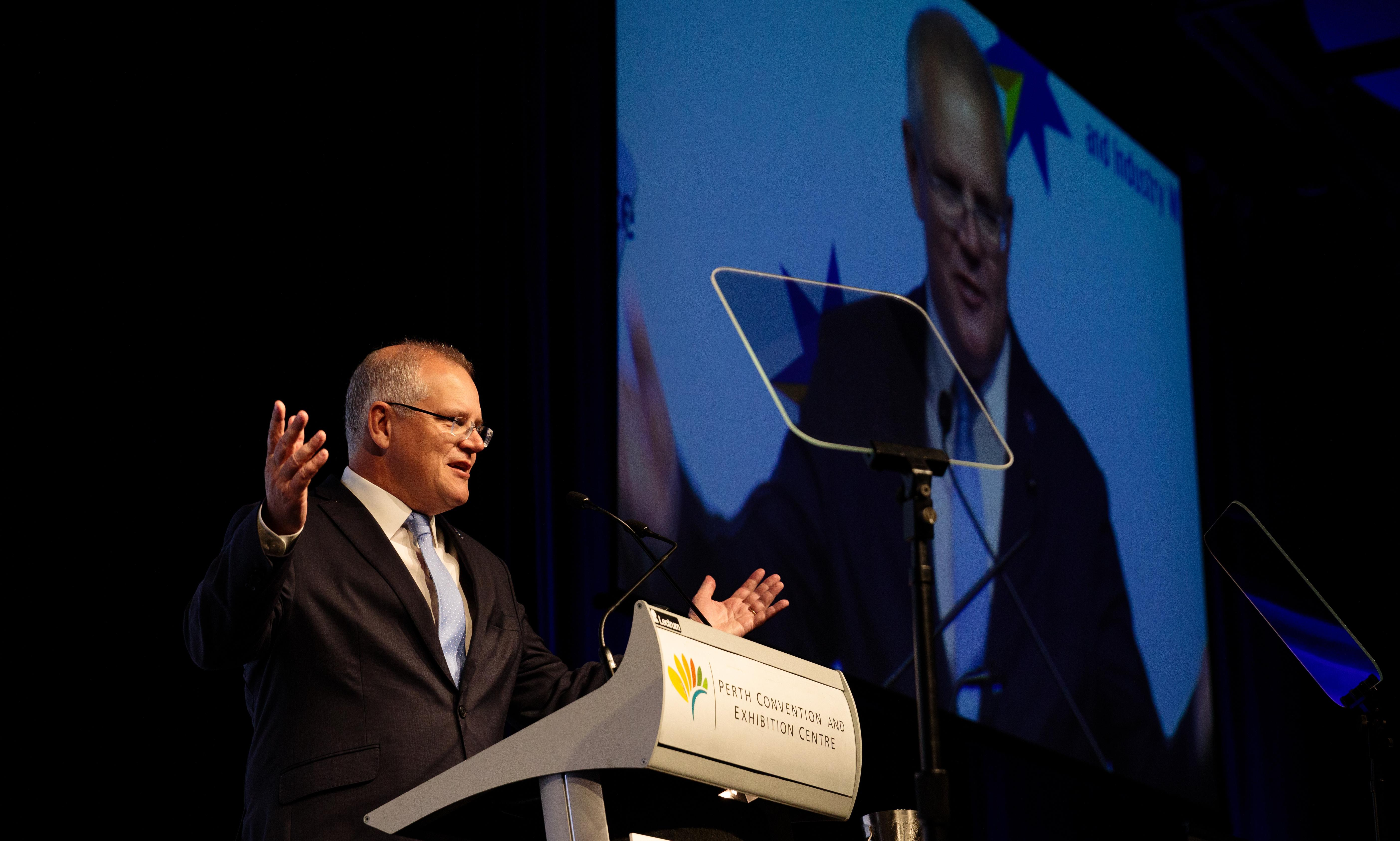 Scott Morrison flags Trump-style economic plan in pledge to cut more red tape