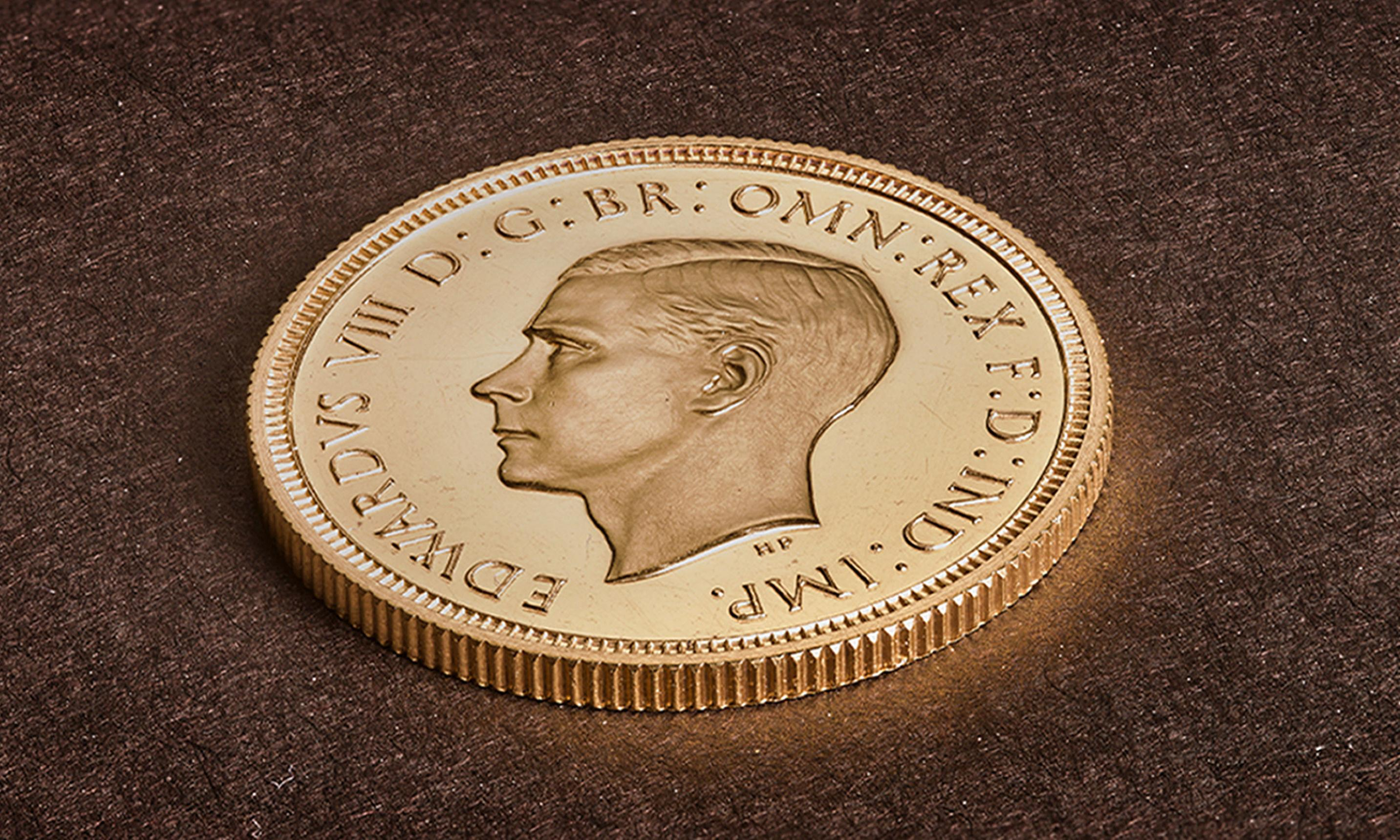 'Never meant to exist': Edward VIII coin bought for record £1m