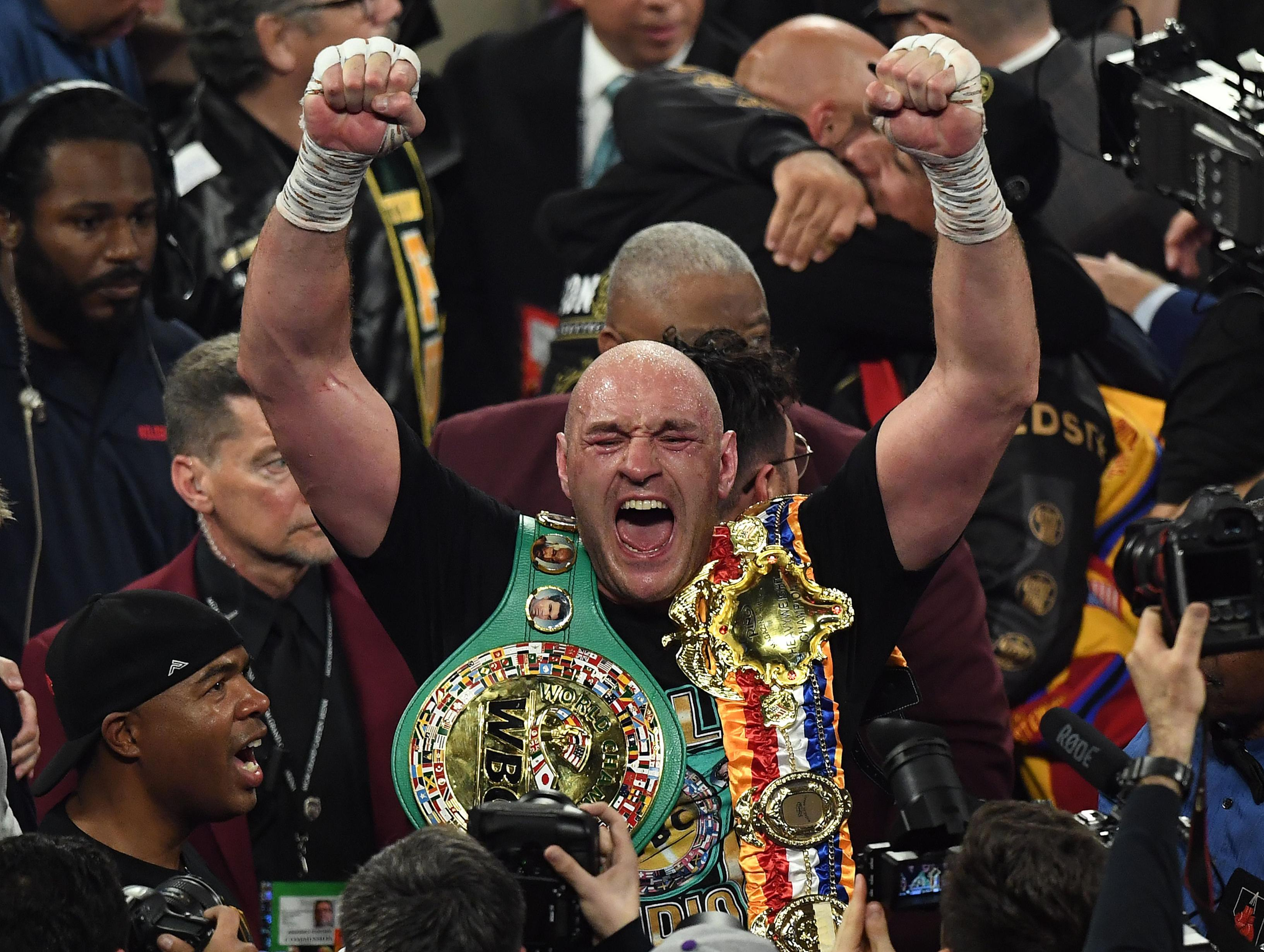 Sweet-as-pie performance earns Tyson Fury respect as world's best