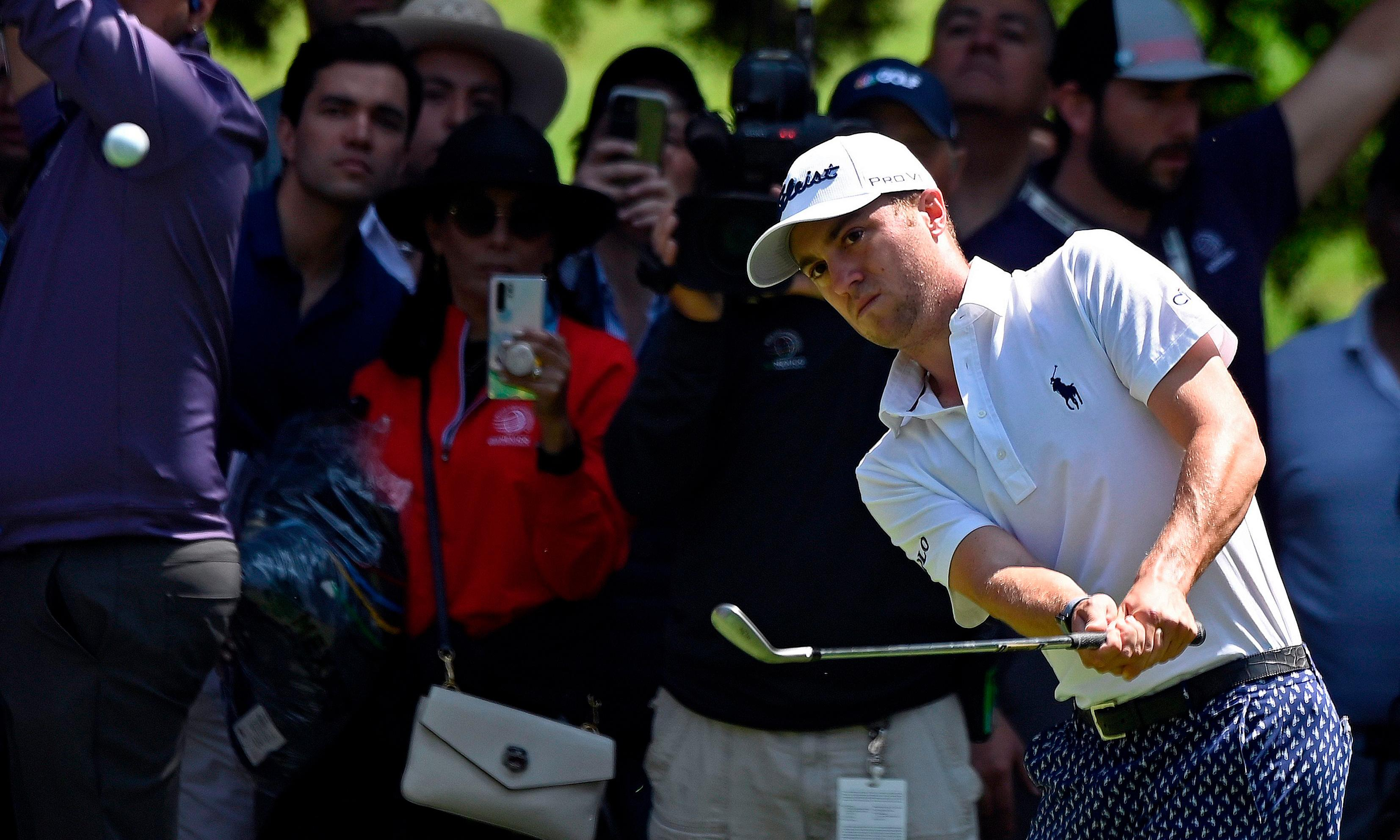 Justin Thomas leads clutch of top names into final round in Mexico