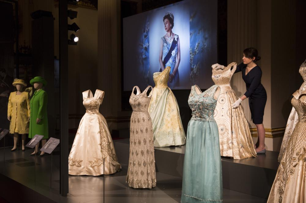 Fashioning a Reign: 90 Years of Style from The Queen's Wardrobe' coincides with the Summer Opening of Buckingham Palace.