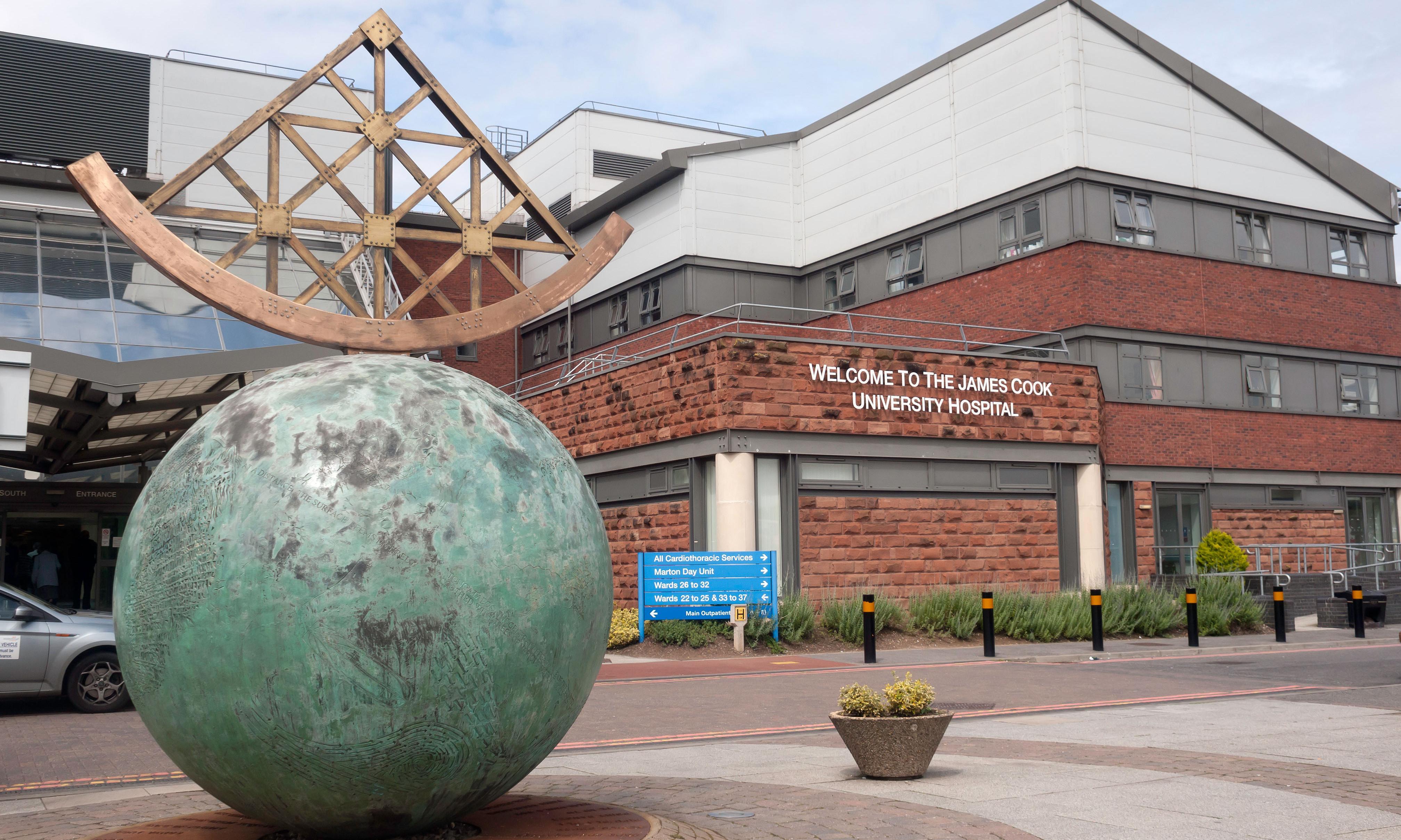 UK hospital apologises for signs to coronavirus isolation facility