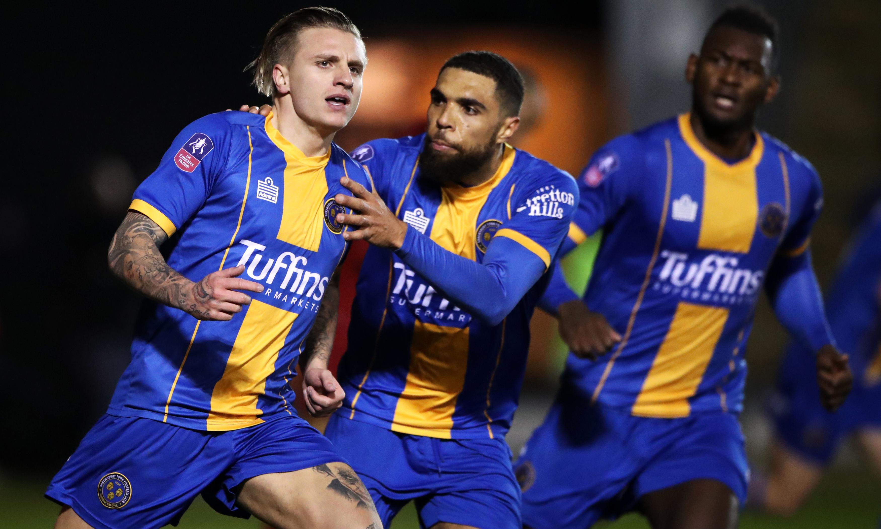 Cummings double stuns Liverpool as Shrews fight back to claim shock replay