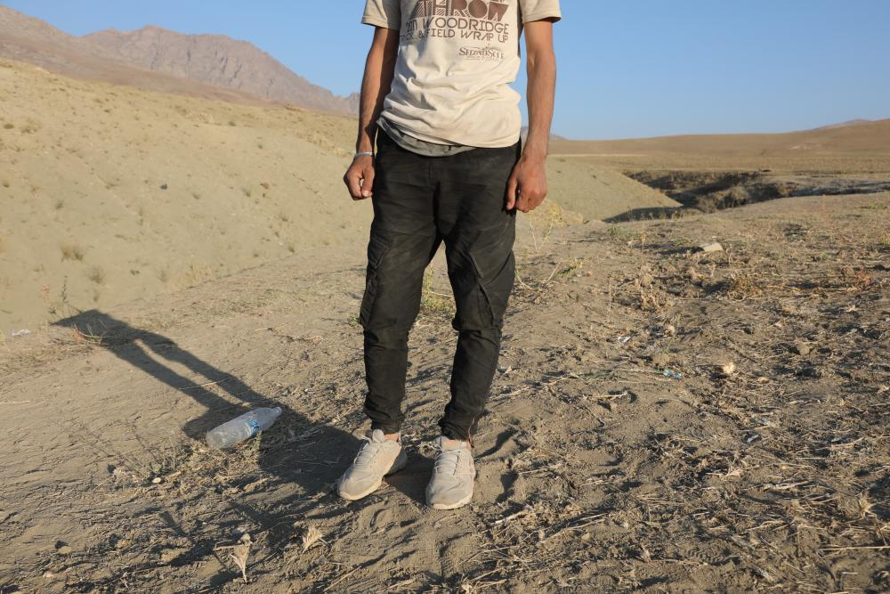 Afghan refugee Muhammdullah Sangeen claims he has experienced torture at the hands of Turkish border forces.