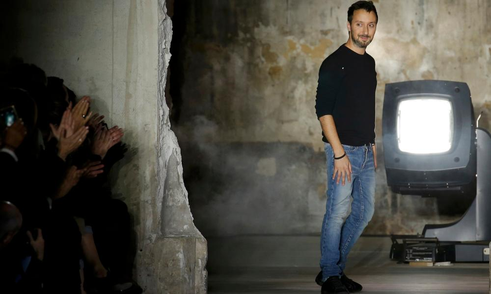 Anthony Vaccarello in Paris, September 2016.