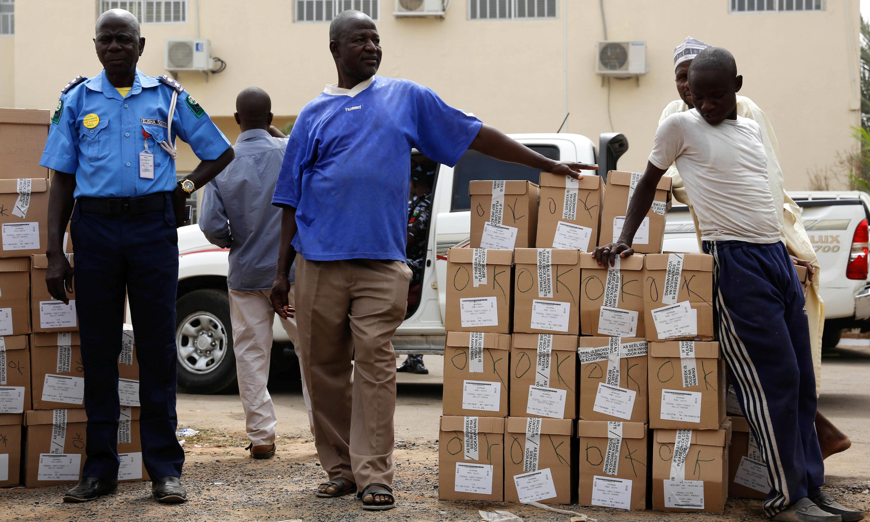 Nigeria postpones election just hours before polls due to open