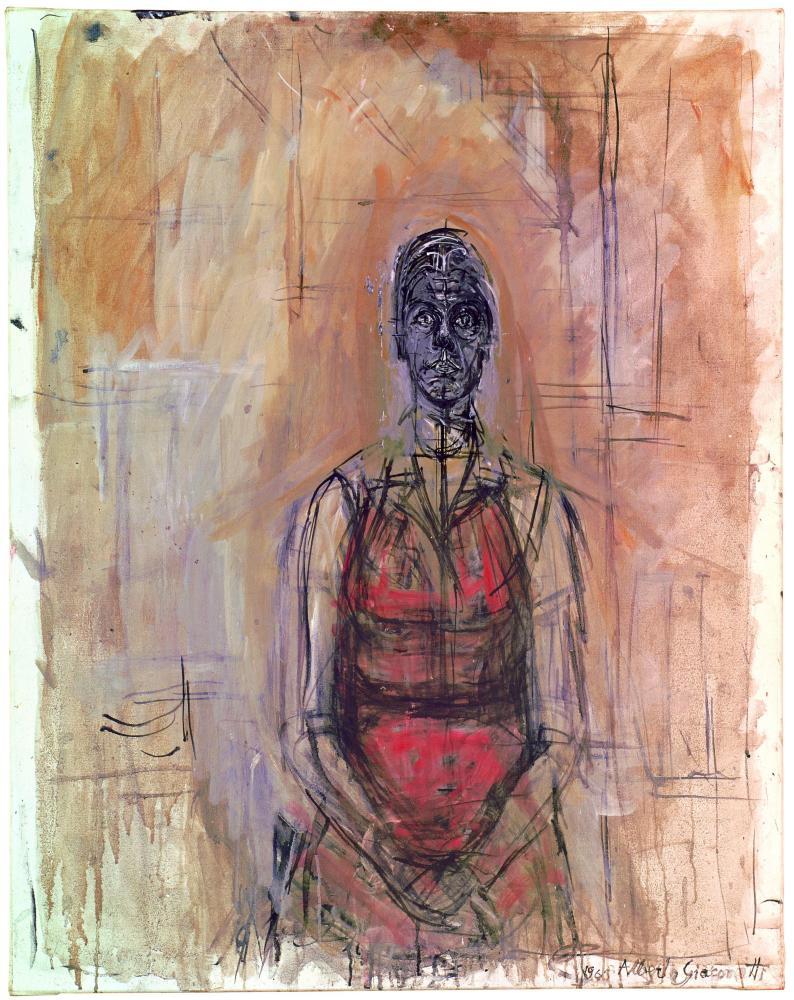 Caroline (1965) by Alberto Giacometti