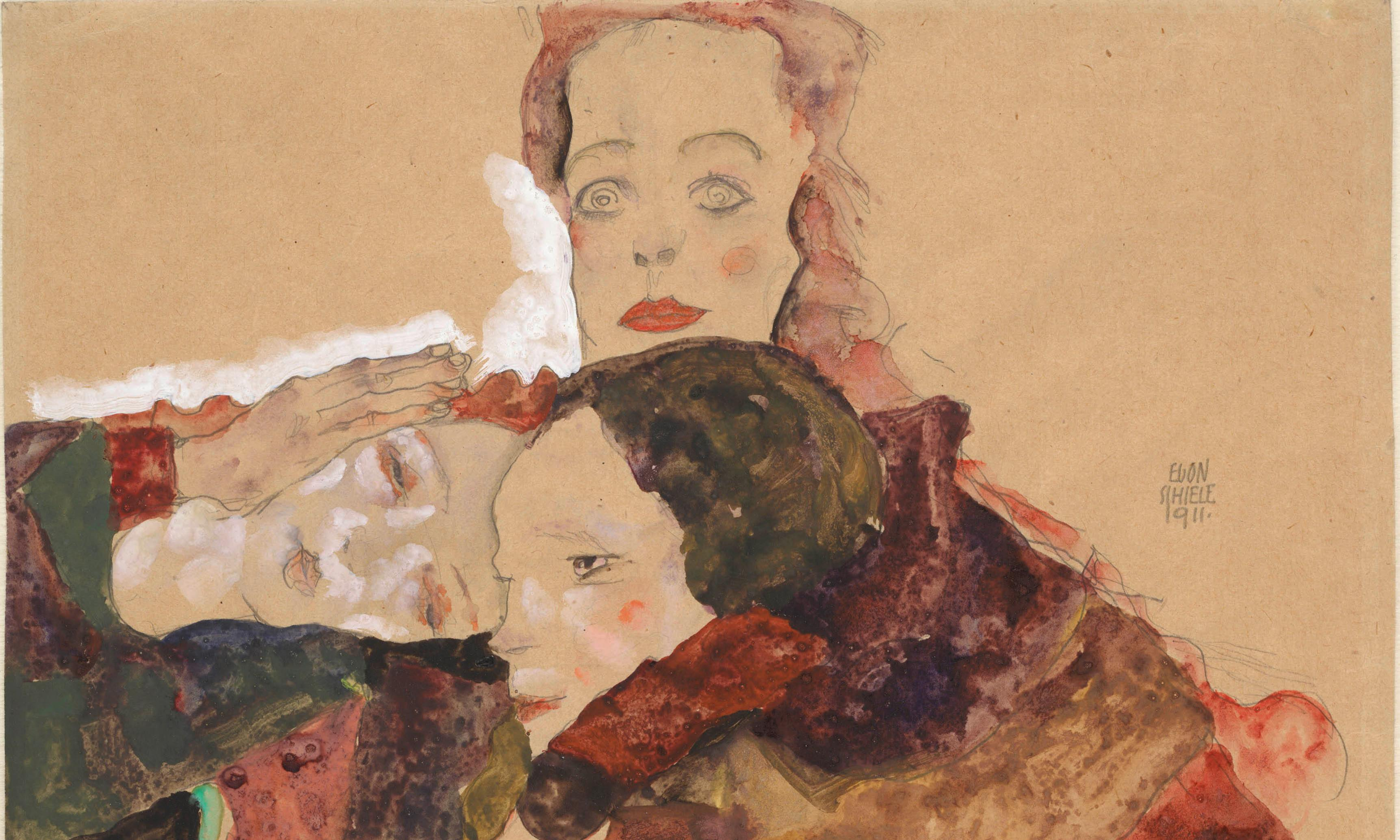 Klimt / Schiele review – the double act who saw the profound in the pornographic