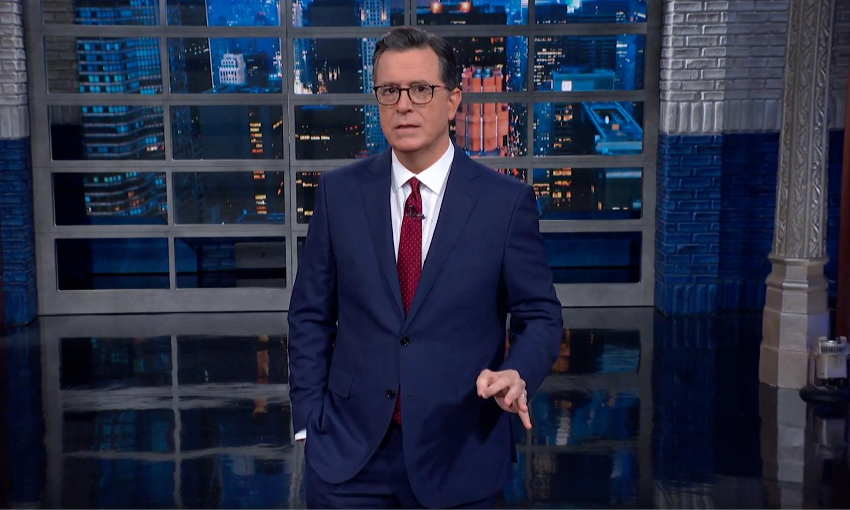 Stephen Colbert on impeachment: 'Rubicon crossed, toothpaste de-tubed'