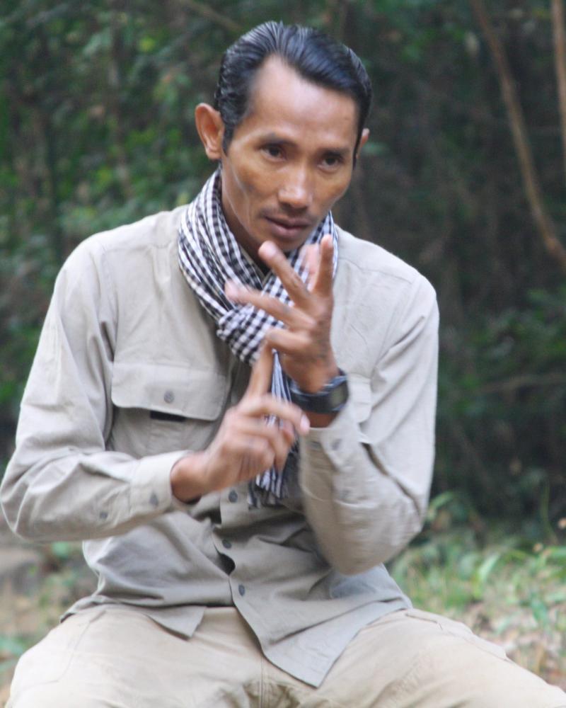 Cambodian environmental activist Chut Wutty who was killed.
