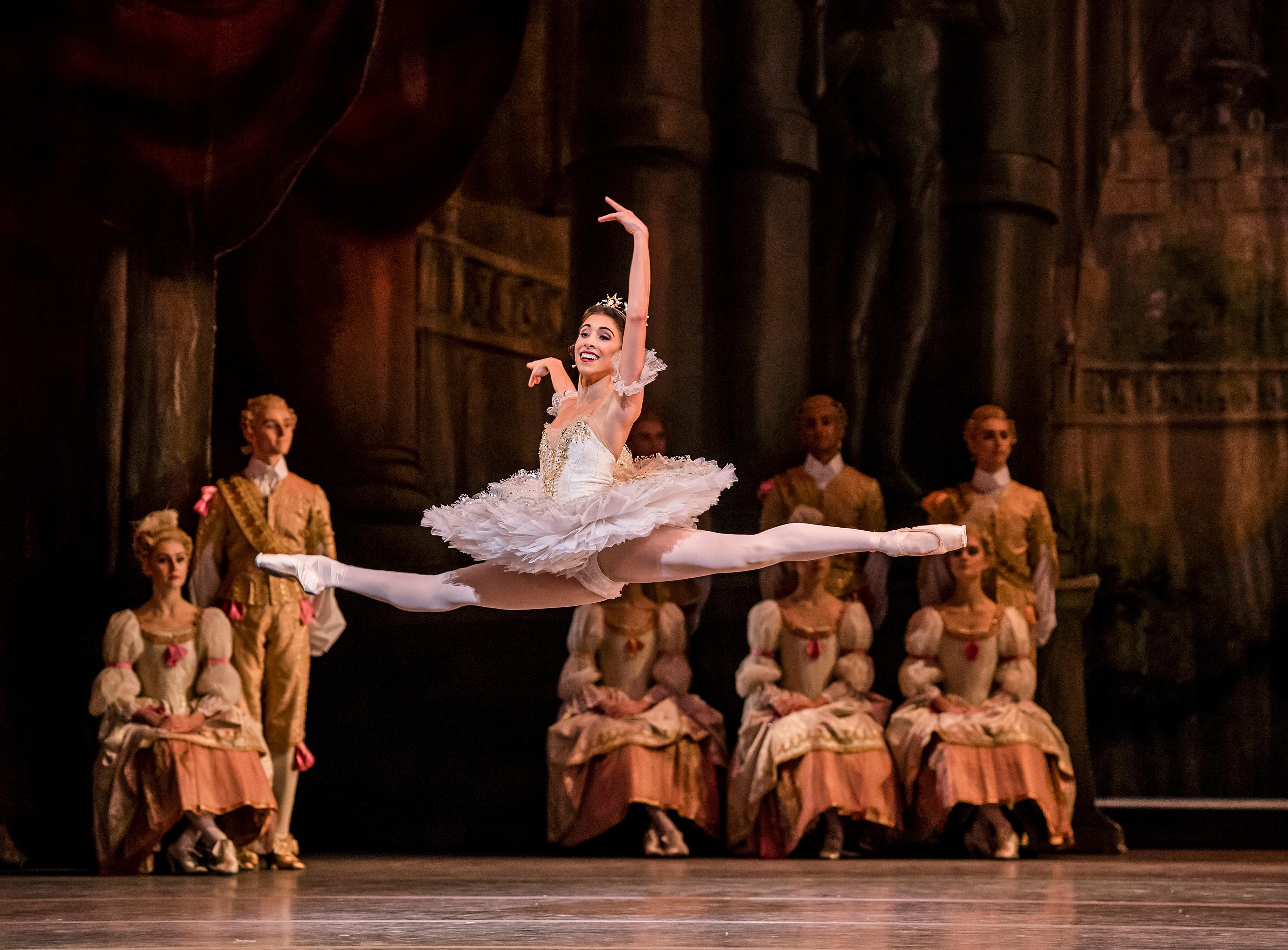 The Sleeping Beauty; Rambert Event review – total ballerina focus and stale fruitcake
